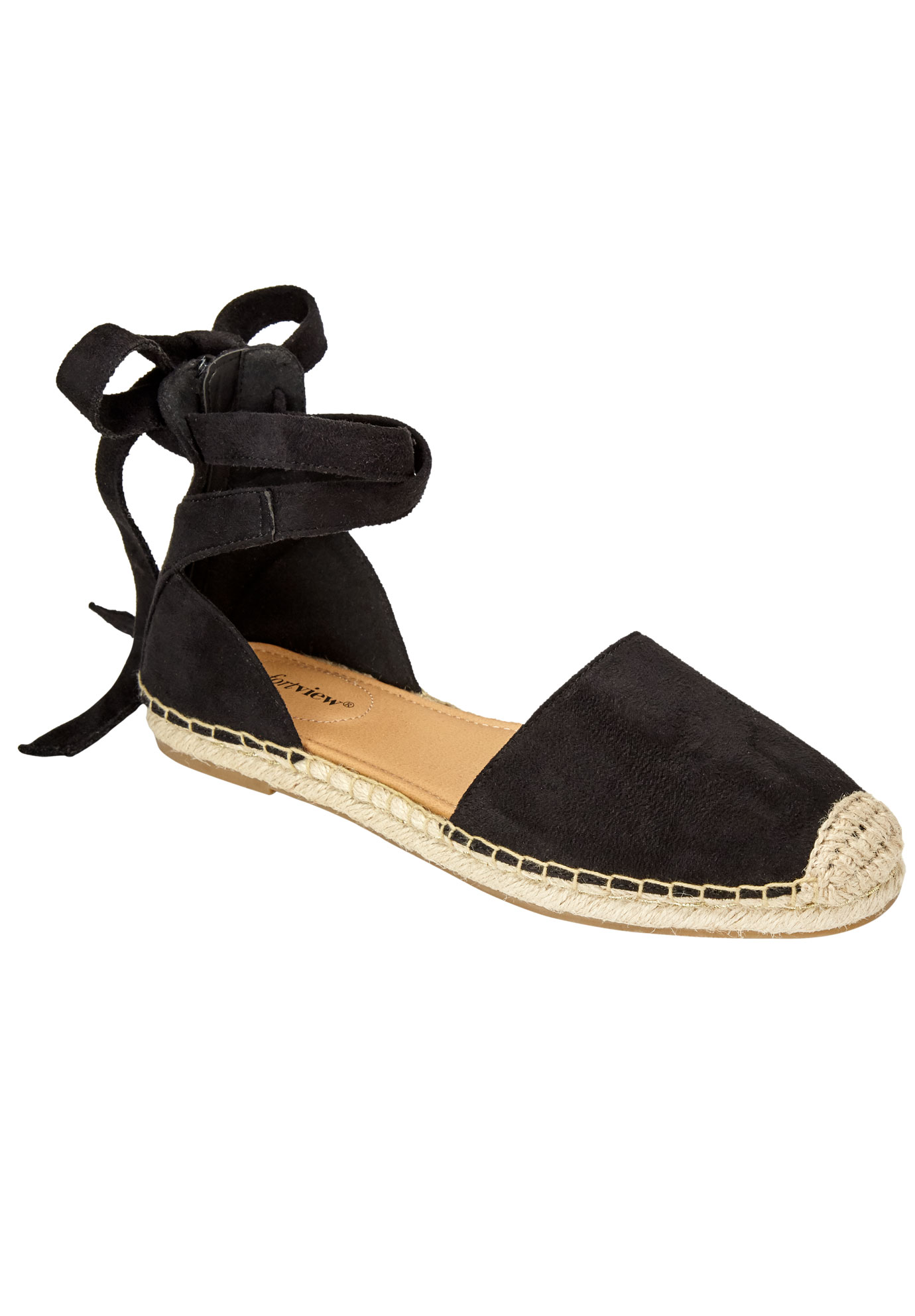 Shayla Flats by Comfortview®, BLACK, hi-res