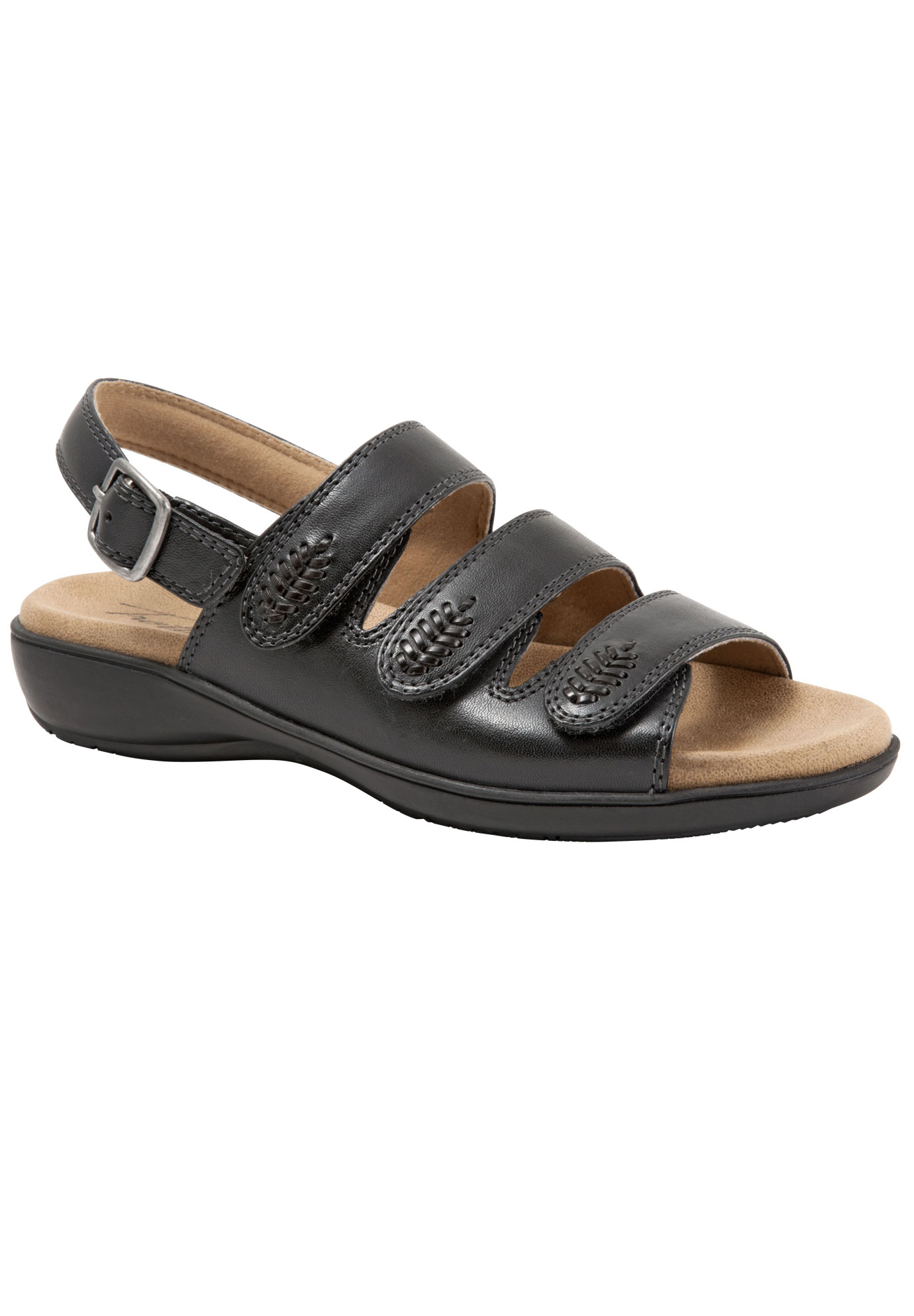 Tonya Sandals by Trotters®, BLACK, hi-res