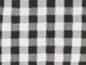 Gingham Shirt with Sleeve Ties, BLACK CHECK, swatch