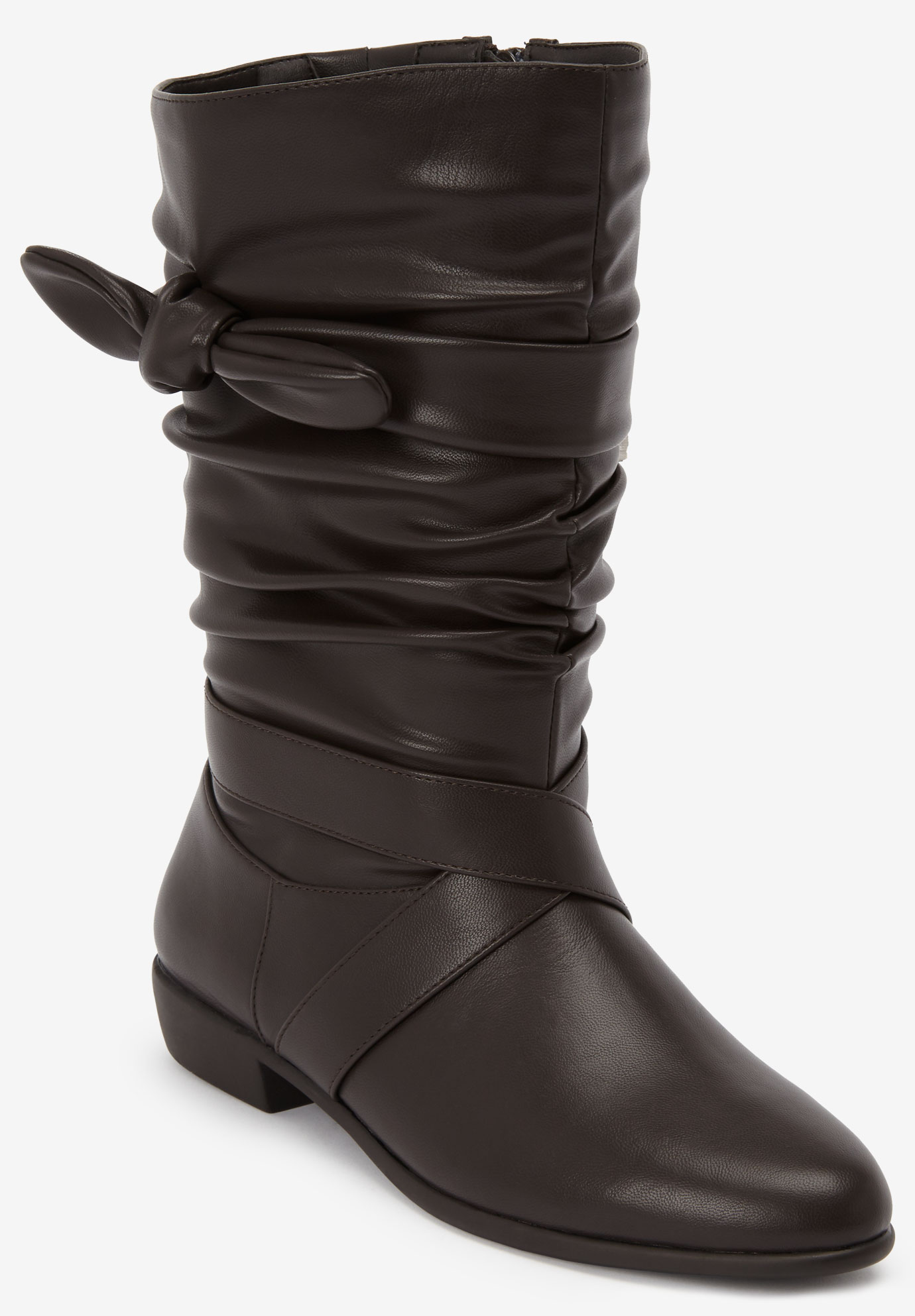 The Heather Wide Calf Boot by Comfortview®,