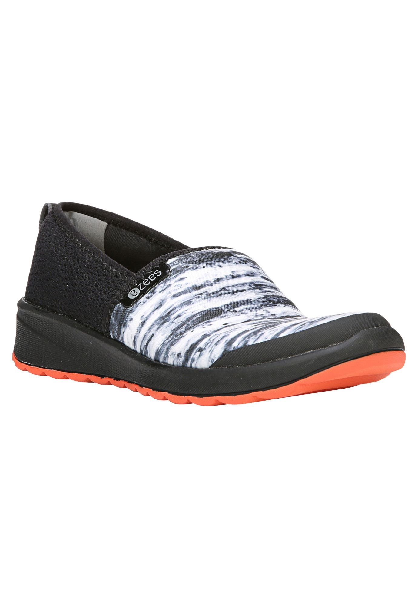 Glee Slip-Ons by BZees®, BLACK, hi-res