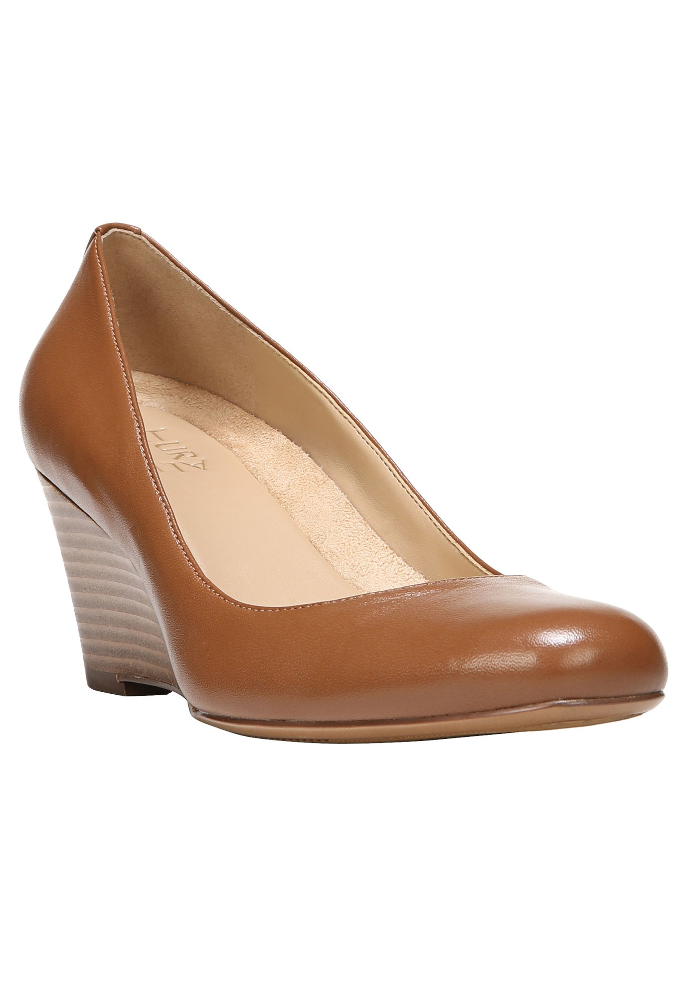Emily Wedges by Naturalizer®, TAN LEATHER, hi-res