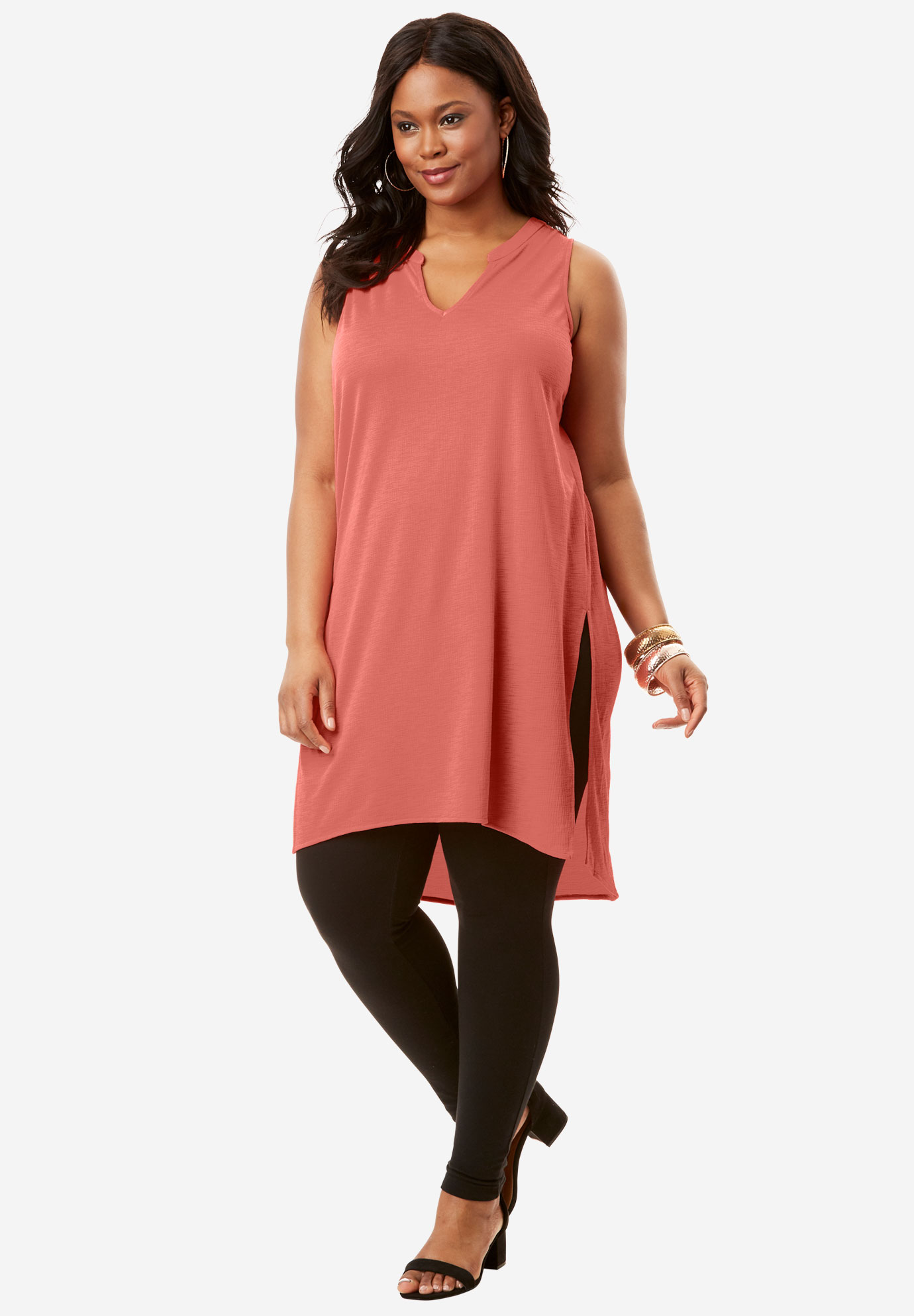 Side Slit Ultra Tunic,