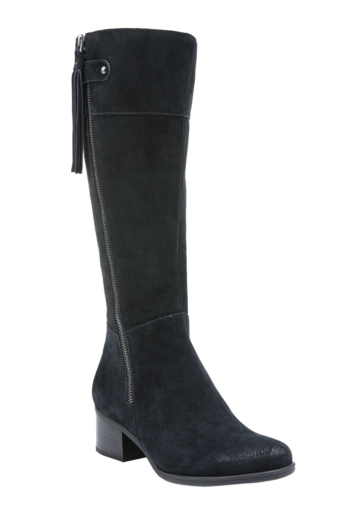 Demi Boots by Naturalizer®, BLACK, hi-res