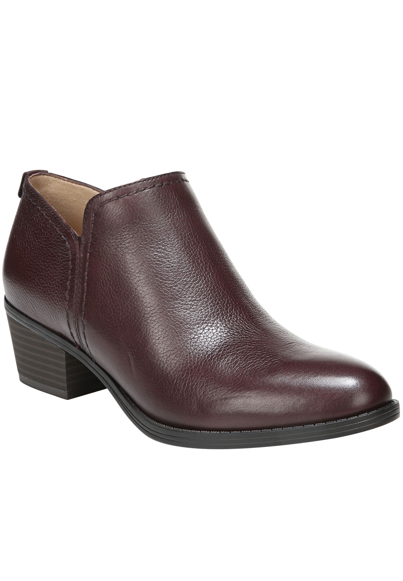 Zarie Bootie by Naturalizer®, AUBERGINE, hi-res