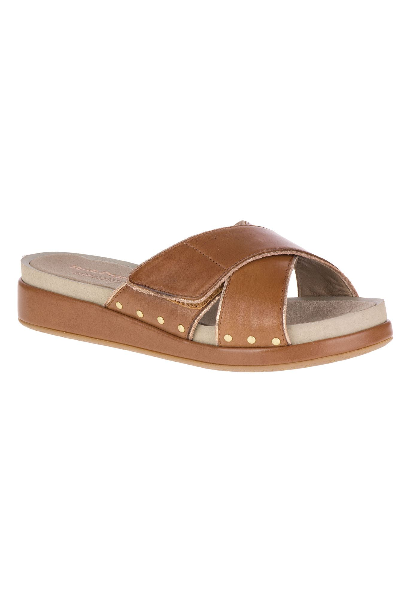 Chrysta Xband Slide Sandals by Hush Puppies®,