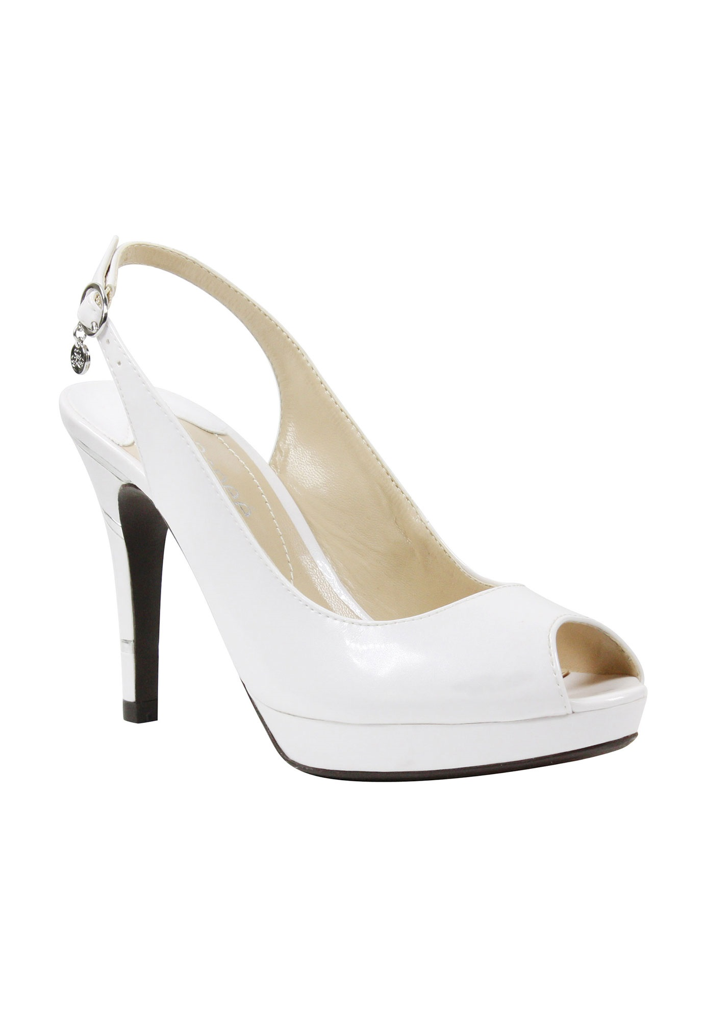 Onille Pump by J. Renee®, PEARL WHITE, hi-res