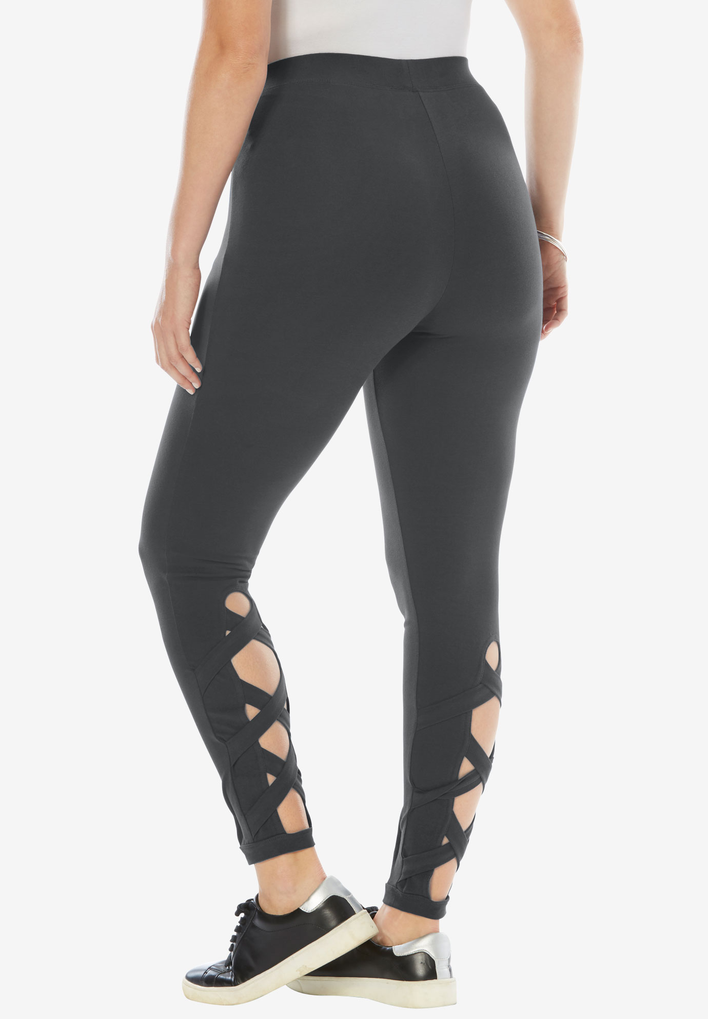 Crisscross Cropped Legging,