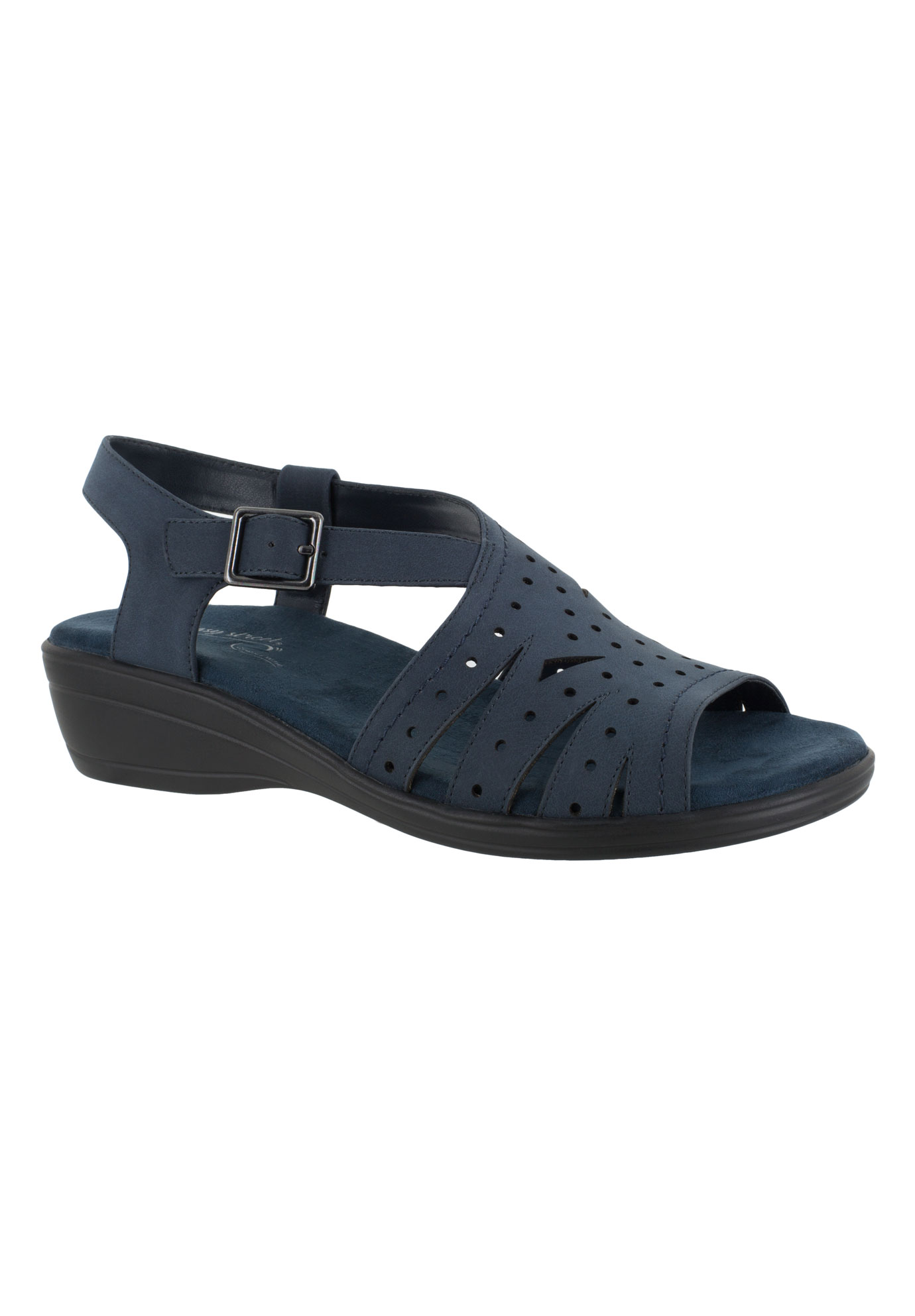 Roxanne Sandals by Easy Street®, NAVY, hi-res