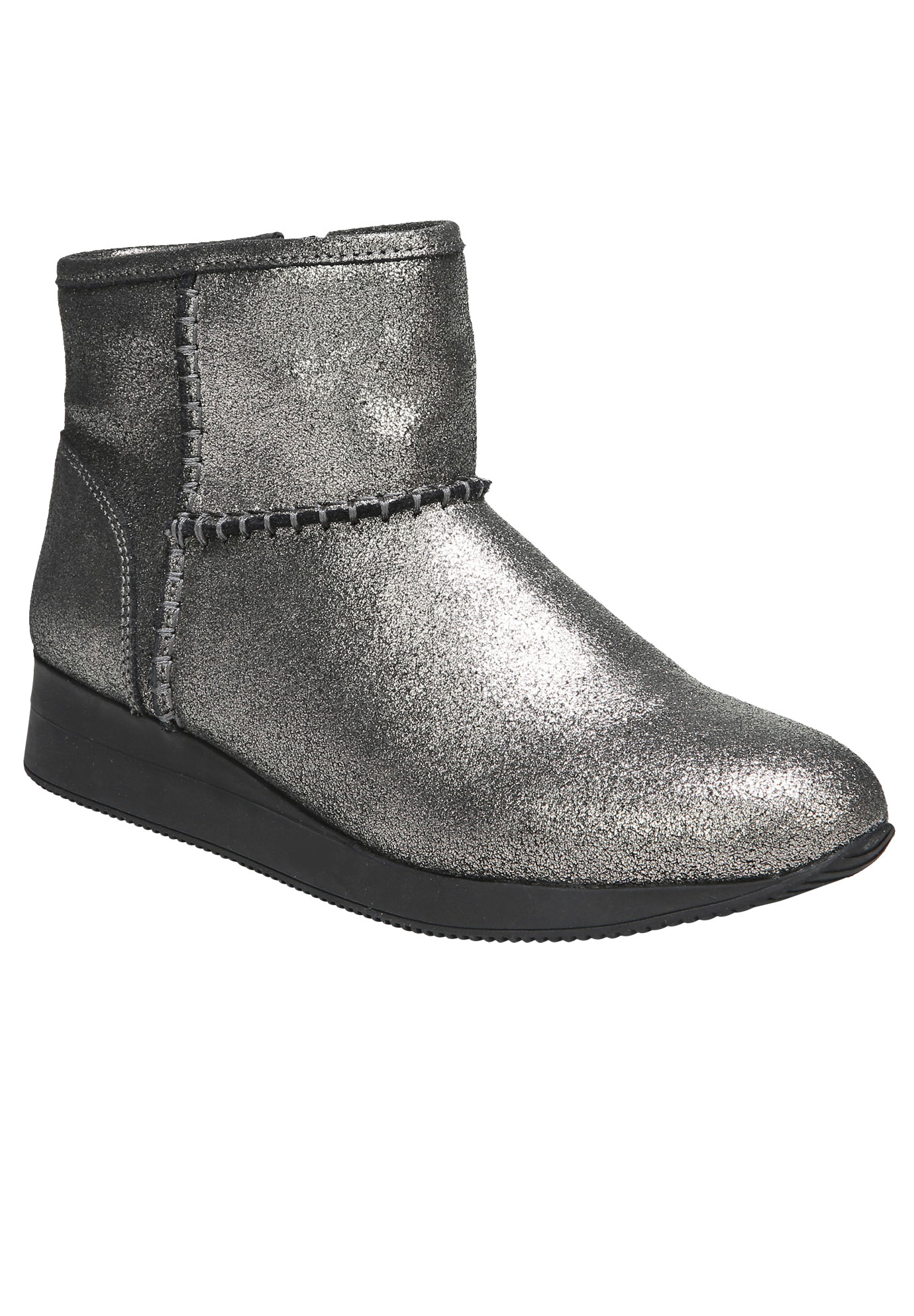 Julian Booties by Naturalizer®, ZINC PEWTER, hi-res