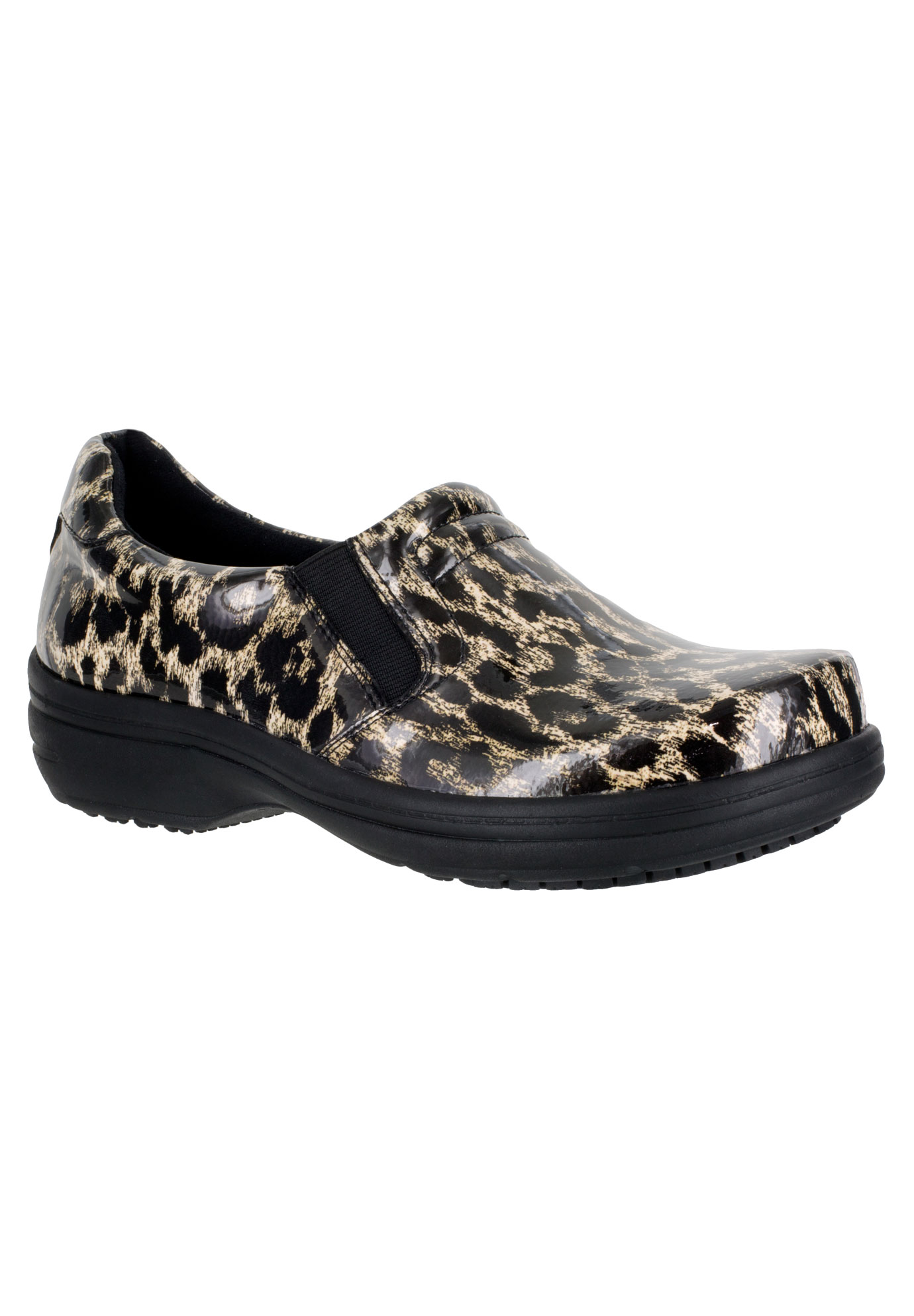 Bind Slip-Ons by Easy Works by Easy Street®, BEIGE LEOPARD, hi-res