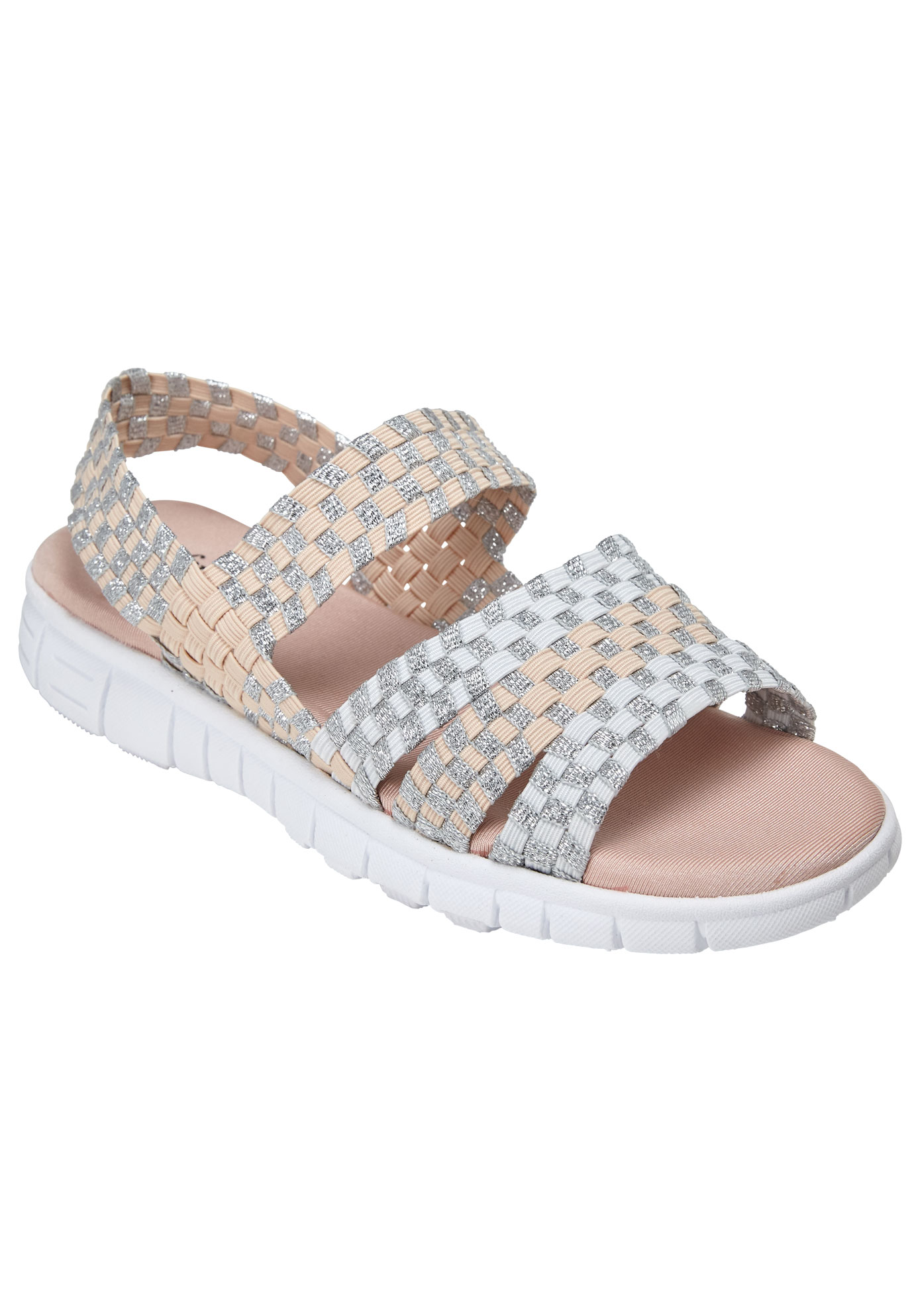 Lily Sandal by Comfortview®, BLUSH MULTI, hi-res