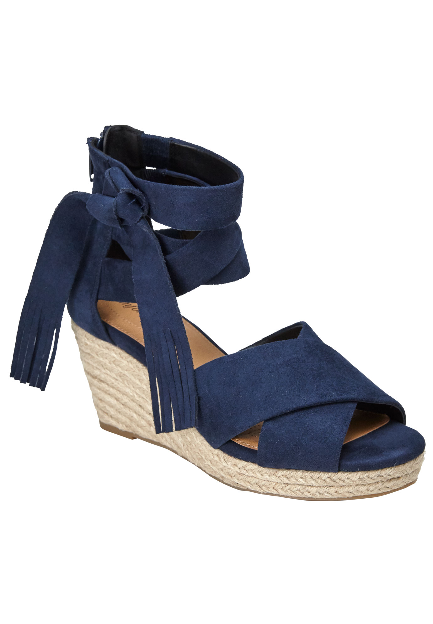 Zion Espadrilles by Comfortview®, NAVY