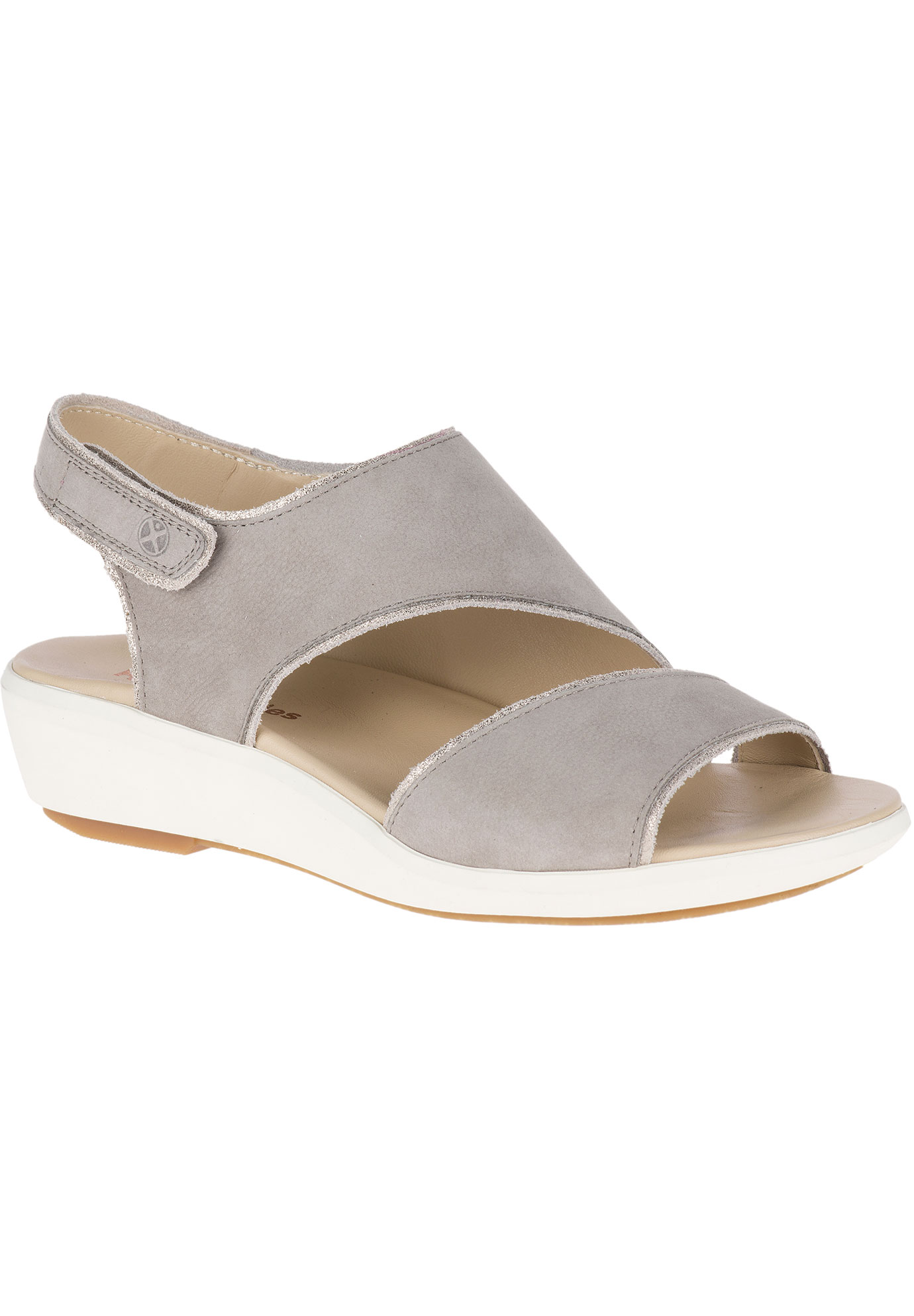Lyricale Slingback Sandals by Hush Puppies®, ICE GREY NUBUCK, hi-res