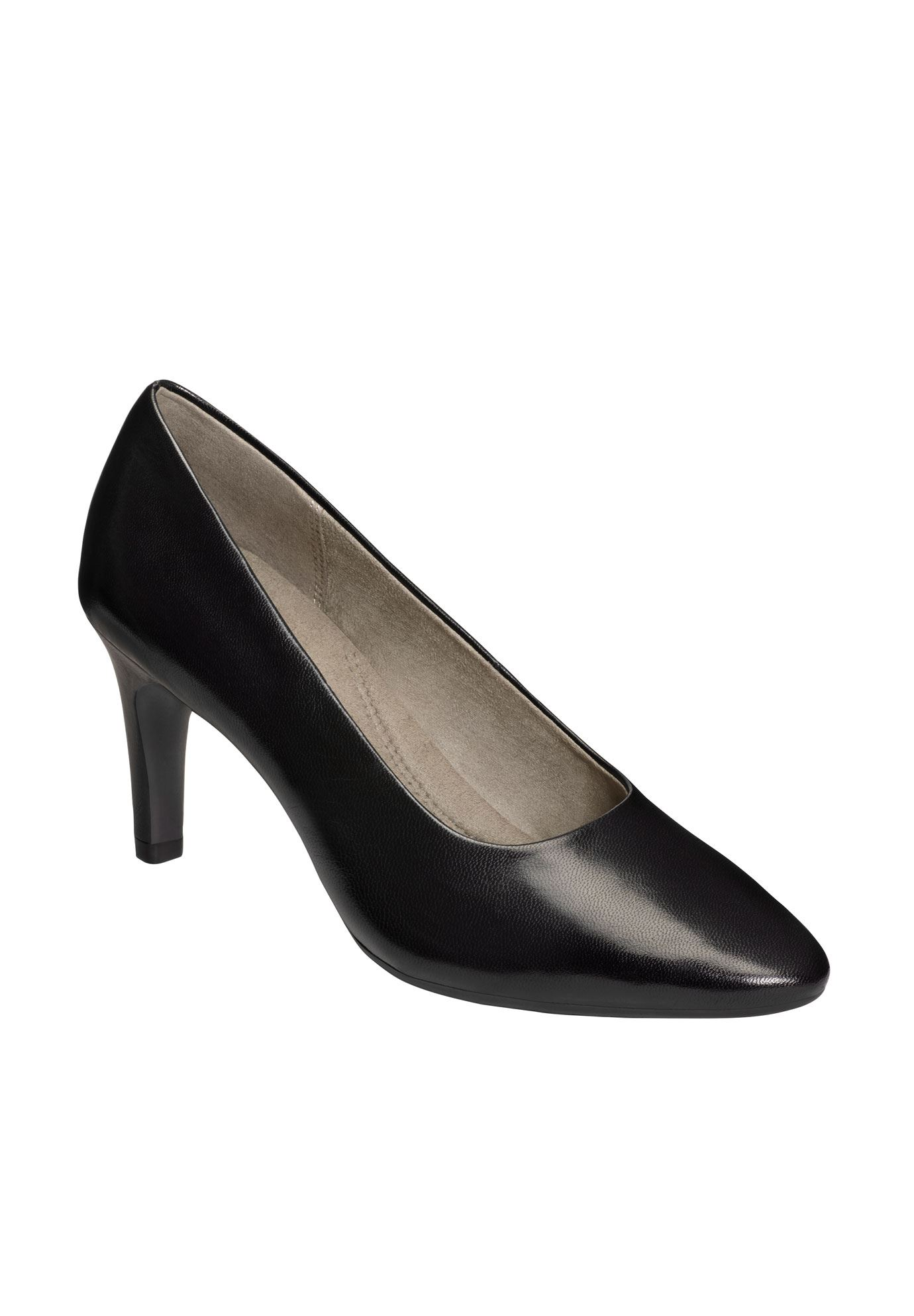 Exquisite Pumps by Aerosoles®, BLACK LEATHER, hi-res