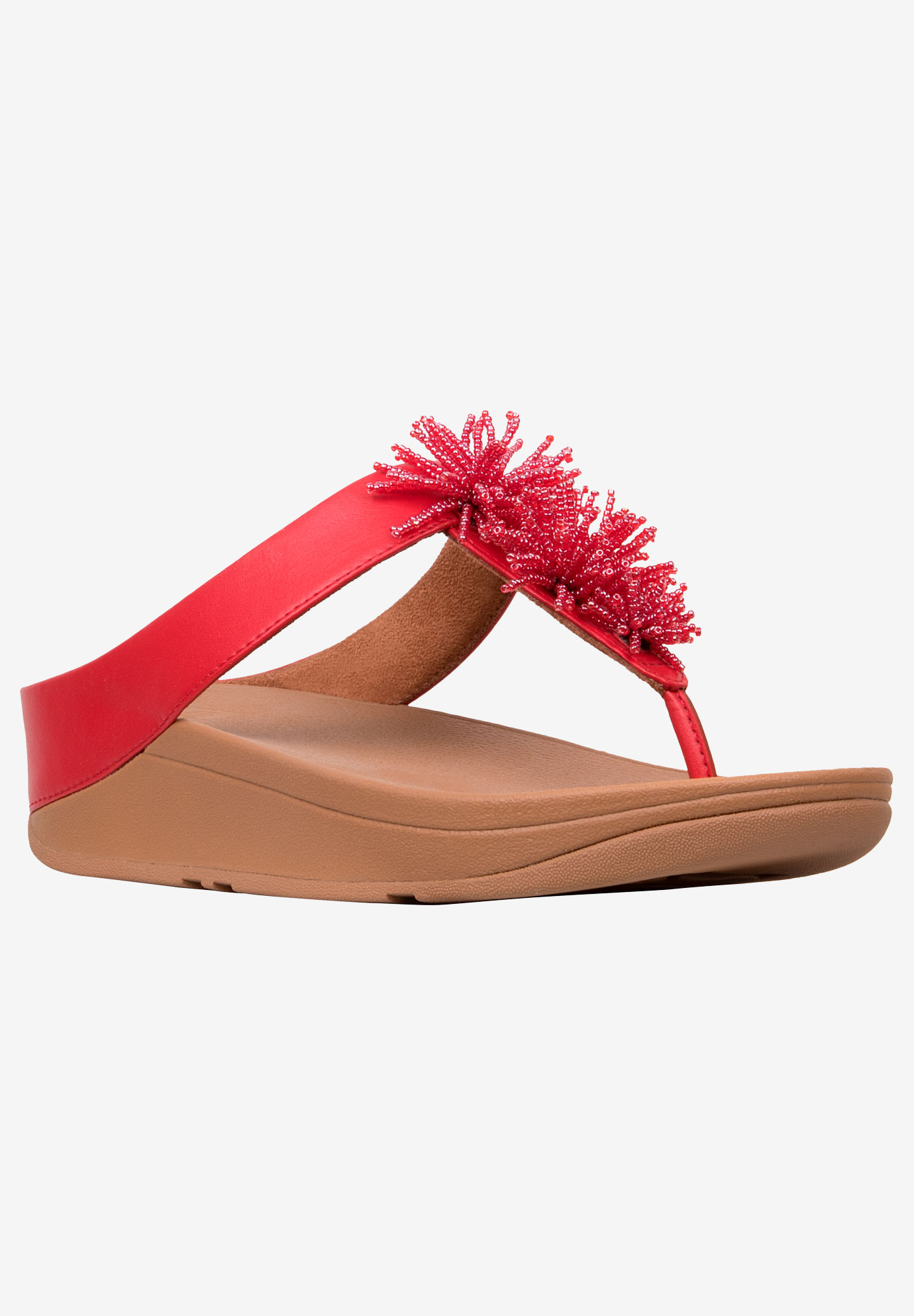Fino Bead Pompom Sandal by FitFlop,