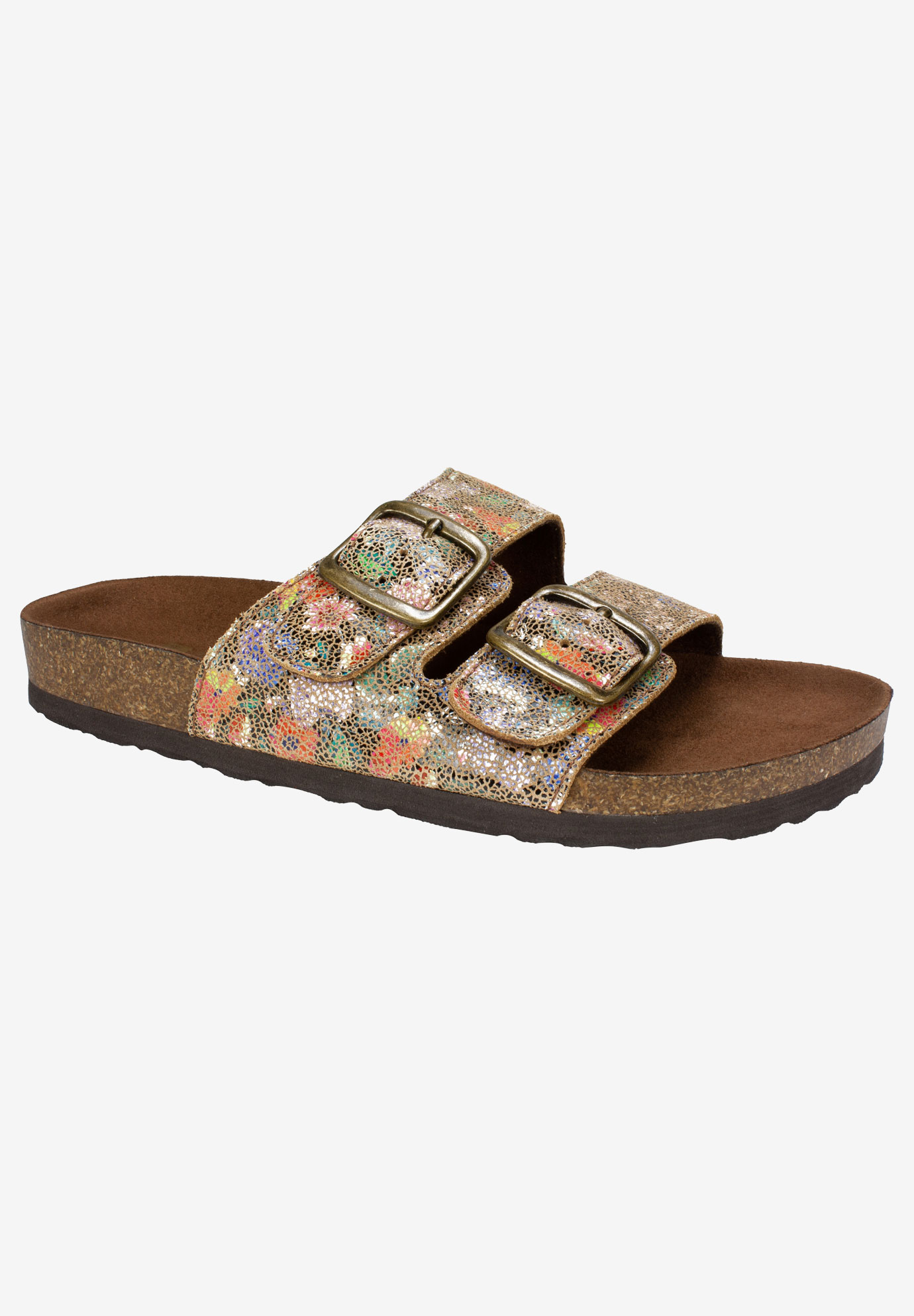 Helga Sandal By White Mountain Plus Size Casual Sandals
