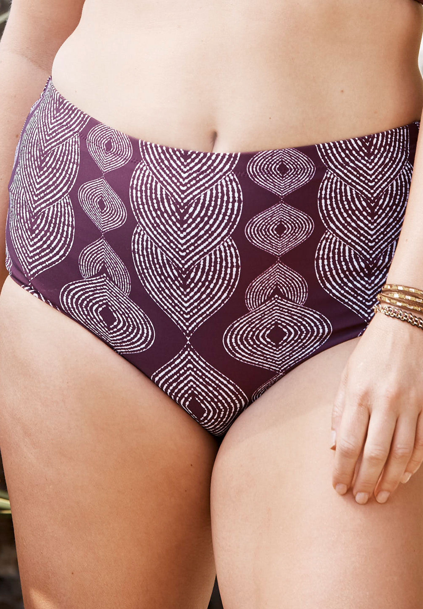 High-Waist Brief by Raisins Curve,