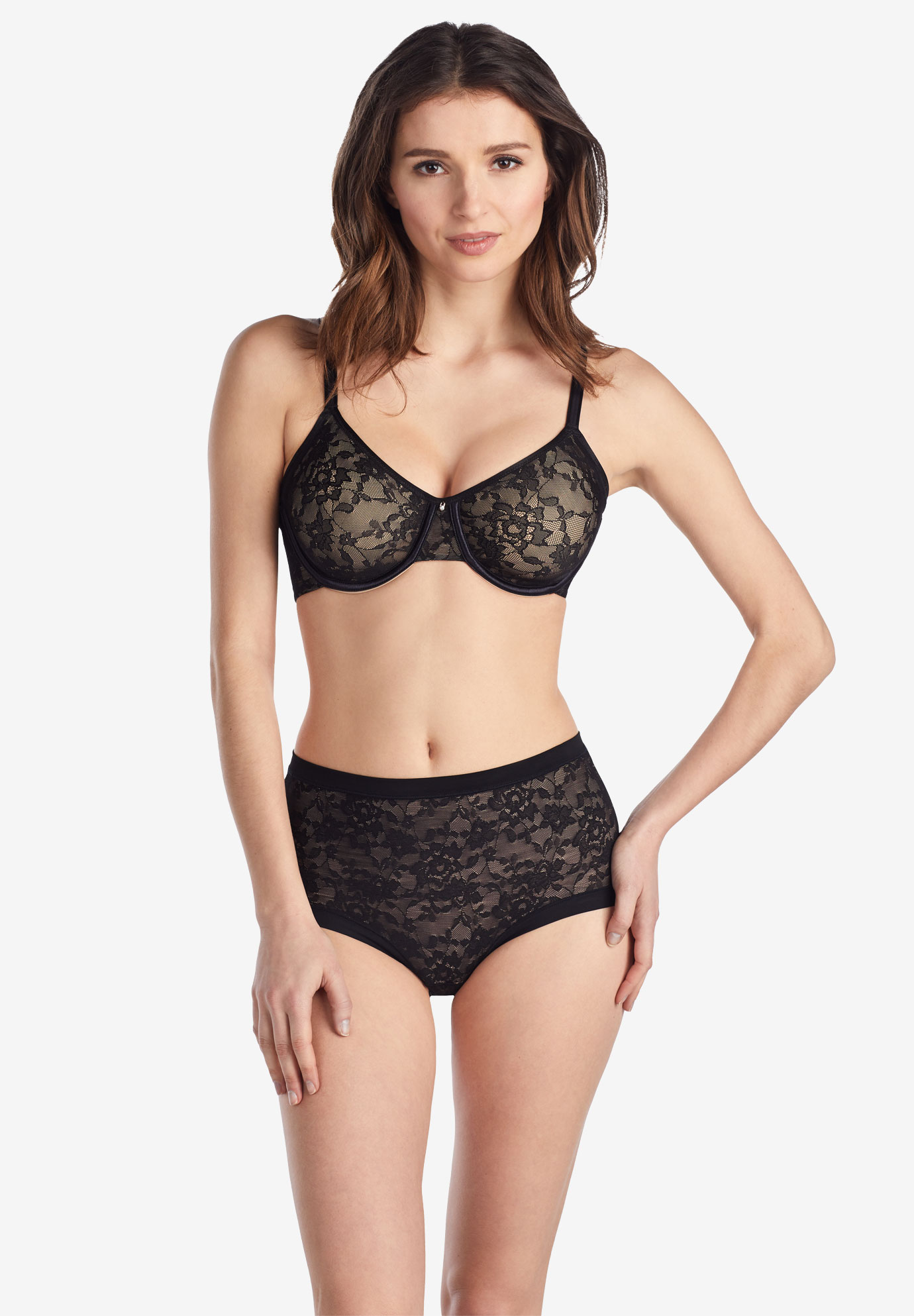 Le Mystere Lace Perfection Smoother Bra 7715,