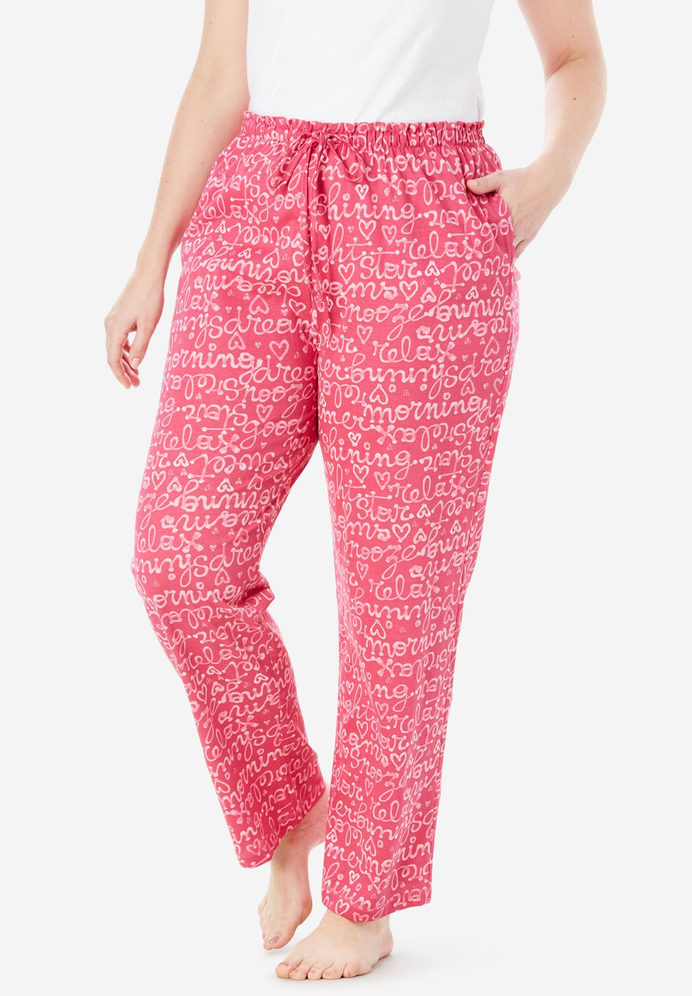 Knit Sleep Pant by Dreams & Co.®,