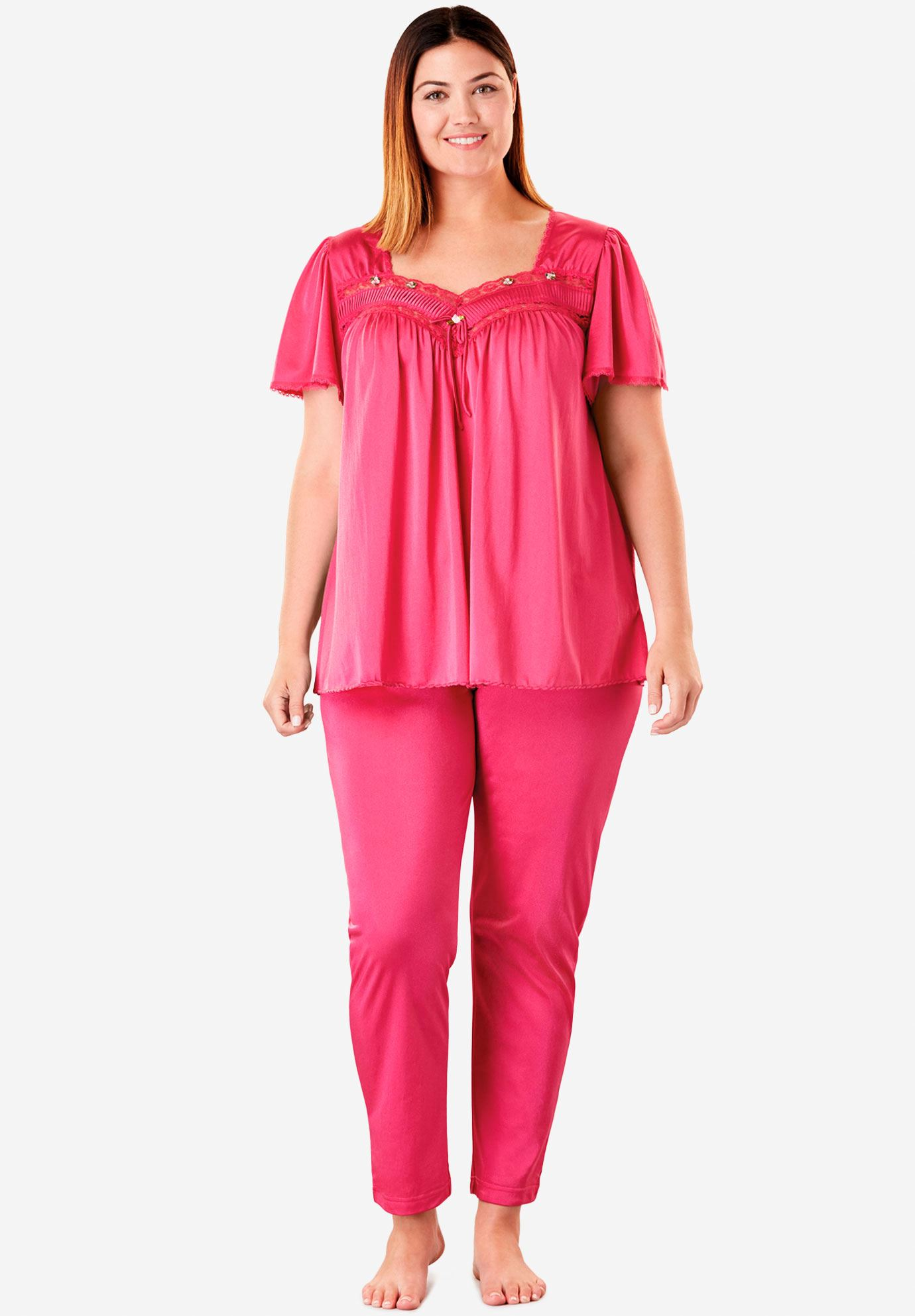 Silky 2-Piece Pajama Set by Only Necessities®,