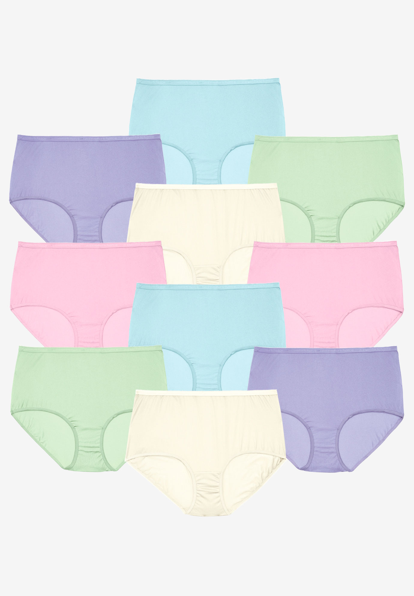 ww comforter clothing choice plus panties underwear chart choiceandreg panty pack in sizechart colorful by size comfort cotton