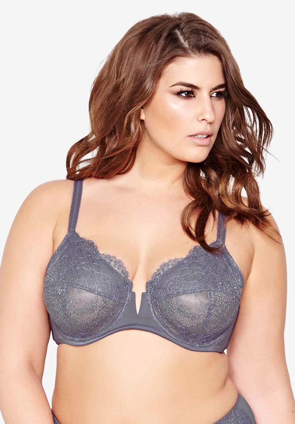 Rebel Beauty - Fatal Attraction Bra by Ashley Graham®, SMOKE, hi-res