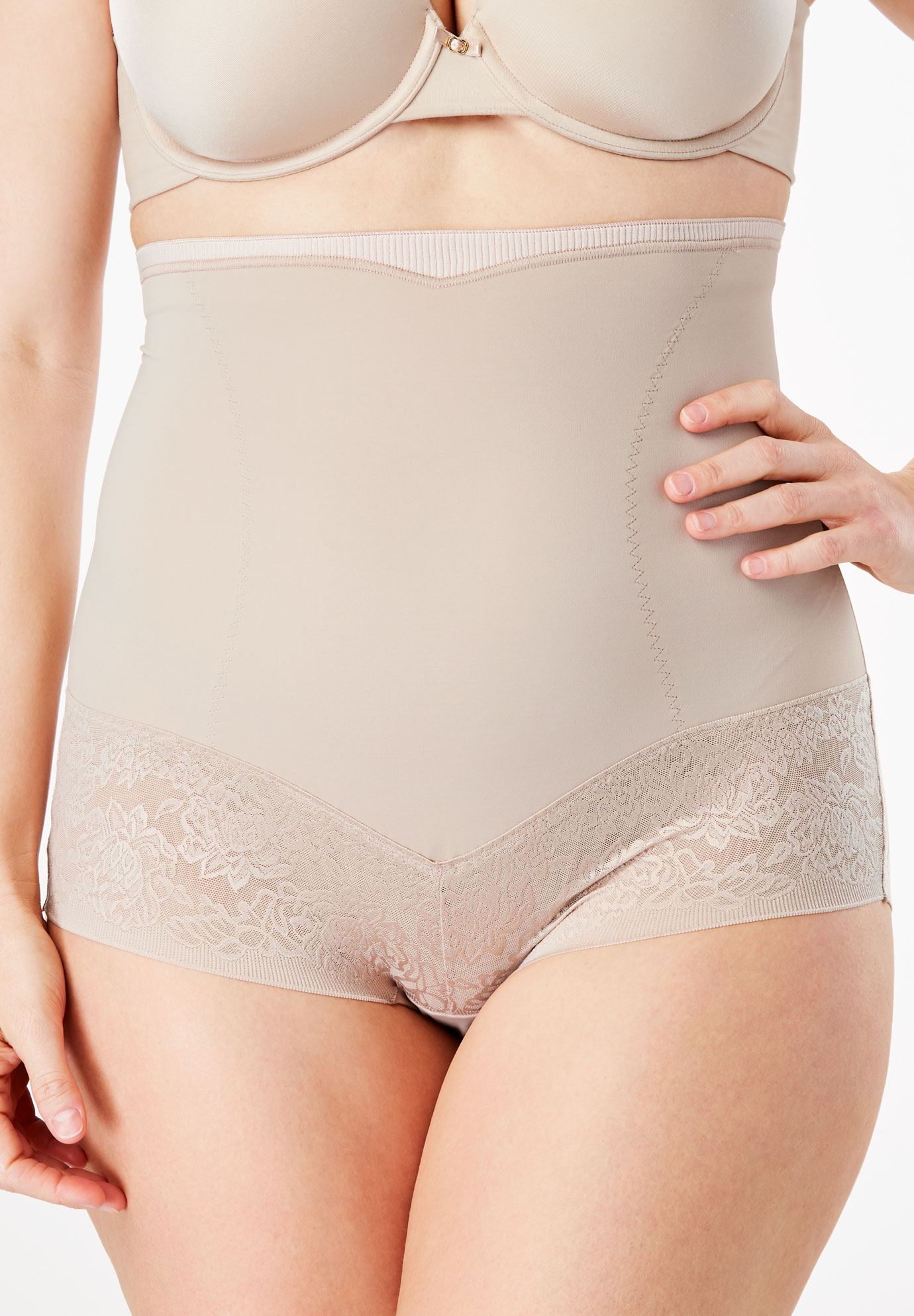 Firm Control Shaping Brief by Maidenform®, NUDE, hi-res