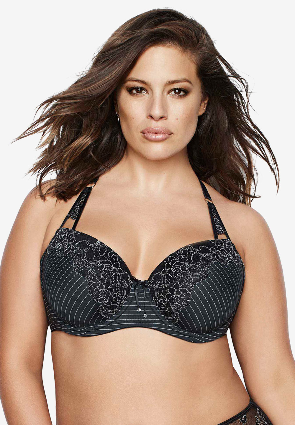 Essential - Showstopper Bra by Ashley Graham®, BLACK, hi-res