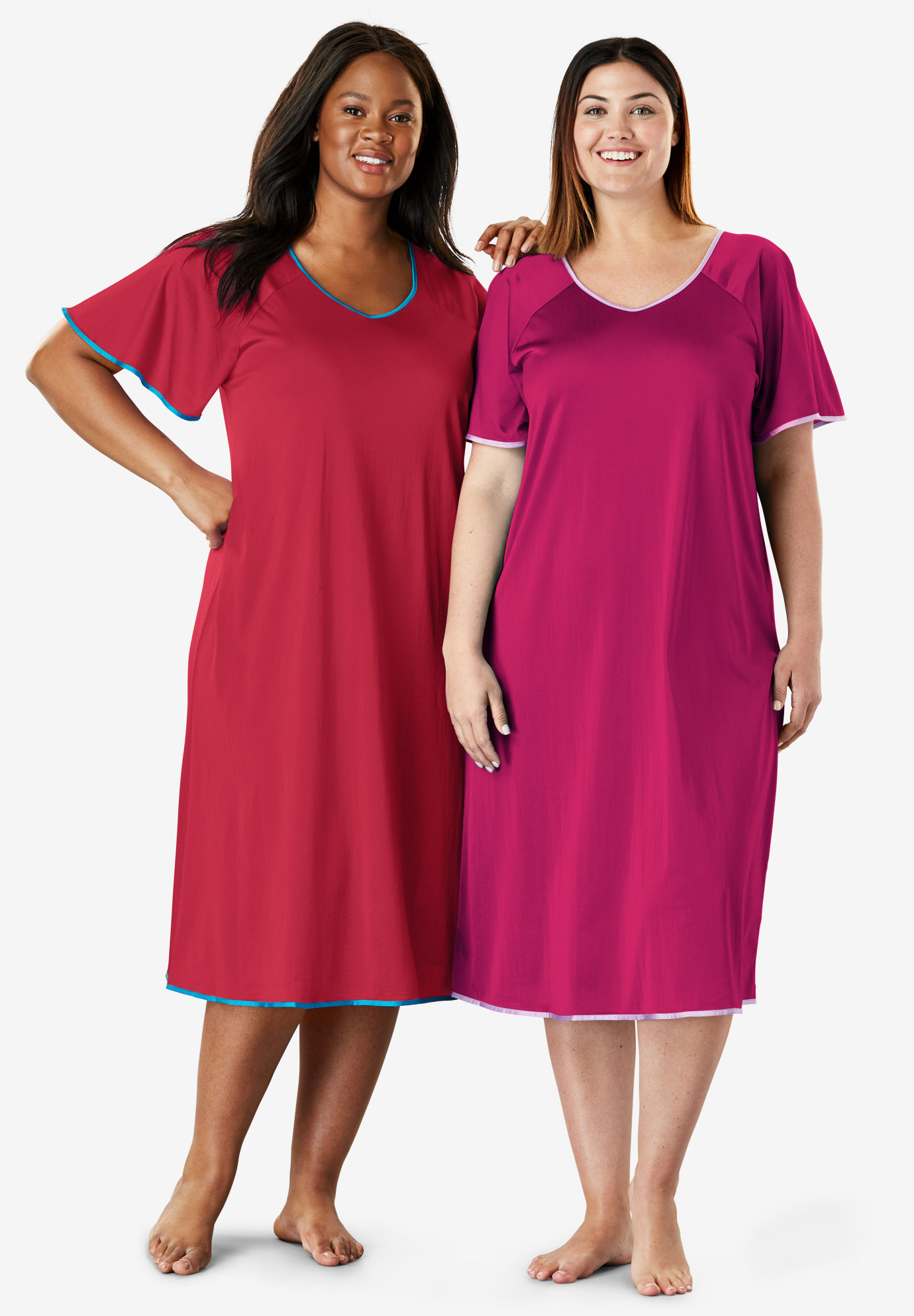 2-Pack Nightgown Set by Only Necessities®,