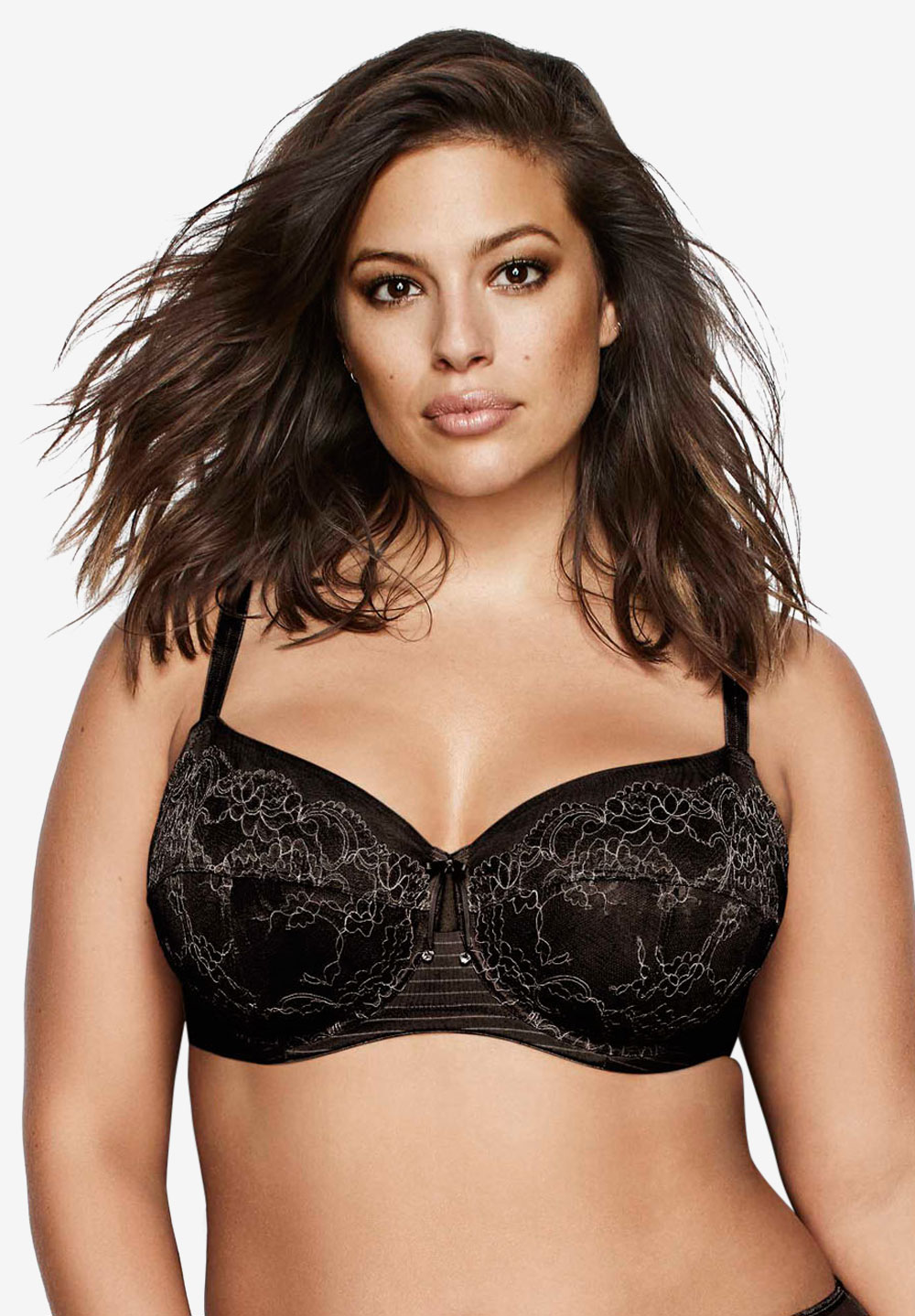 Essential - Fatal Attraction Bra by Ashley Graham®, BLACK, hi-res