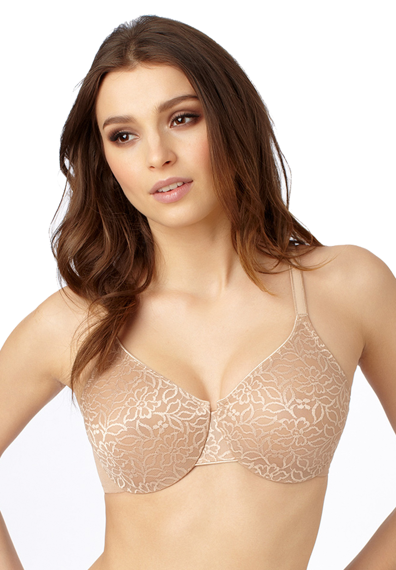 de445233c5 Slim Profile Minimizer Bra by Le Mystere