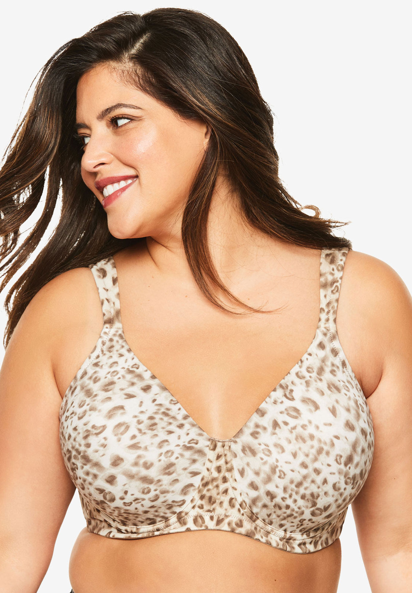 Leading Lady® Brigitte Full Coverage Seamless Underwire Bra #5028,