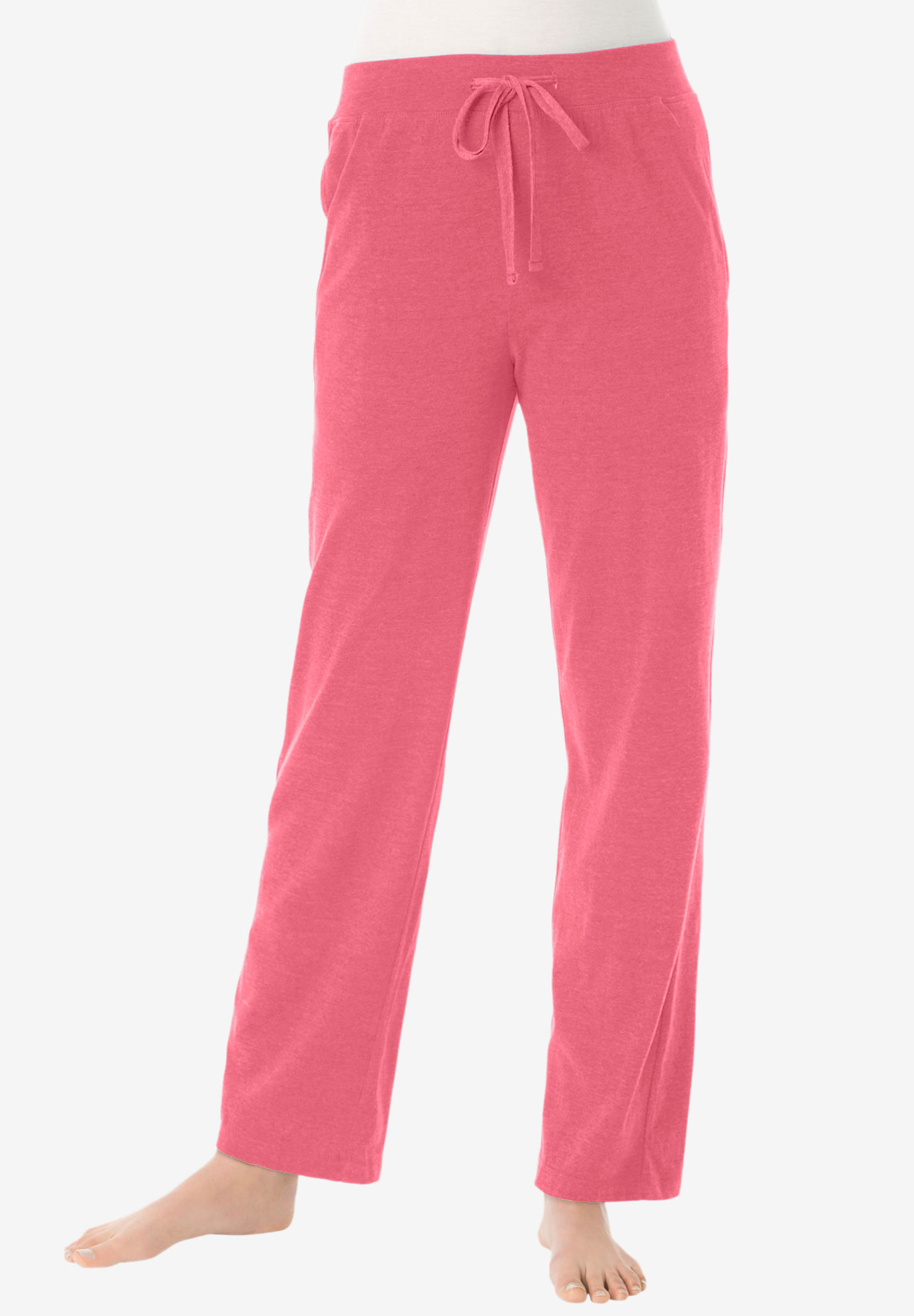 Lounge pants by Dreams & Co.®, BEGONIA, hi-res