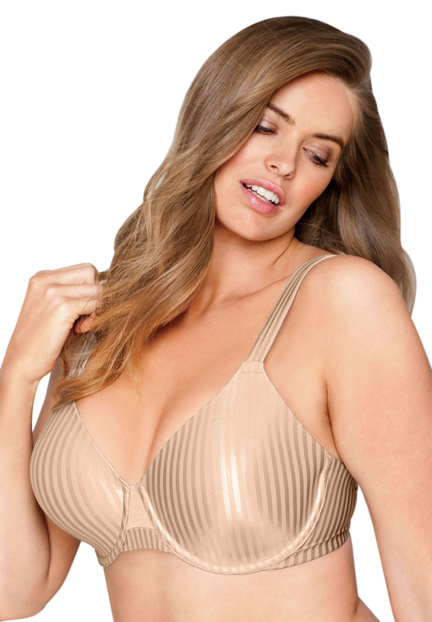 Bra, smoothing seamless underwire from Secrets by Playtex®,