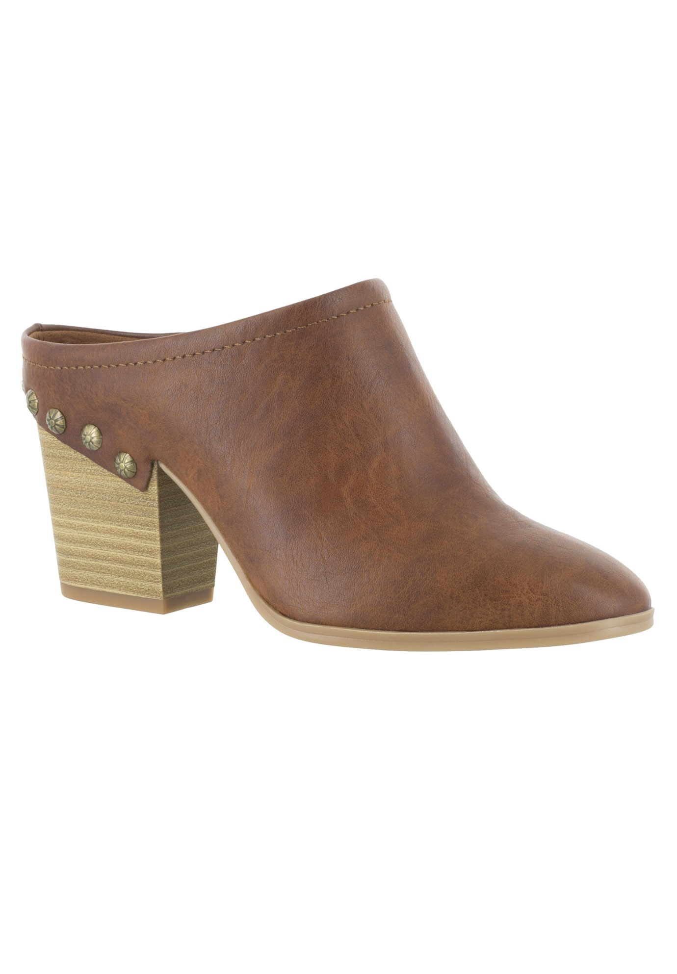Shiloh Booties by Easy Street®, TAN, hi-res