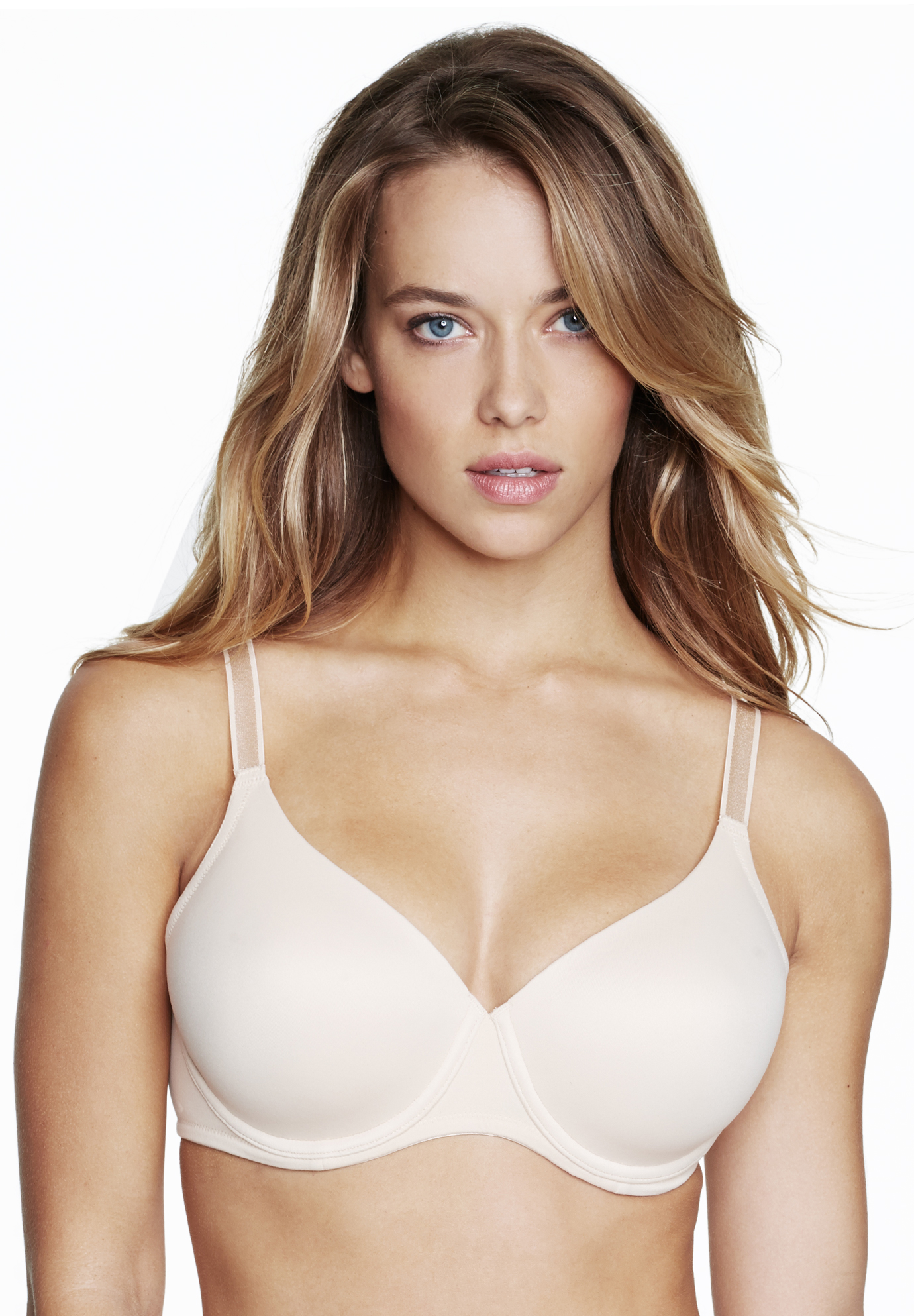 Dominique ™ Seamless Support Bra, NUDE, hi-res