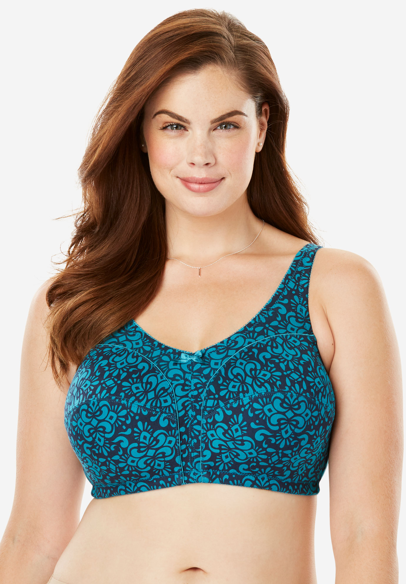 Cotton Everyday Wireless Leisure Bra by Comfort Choice®,