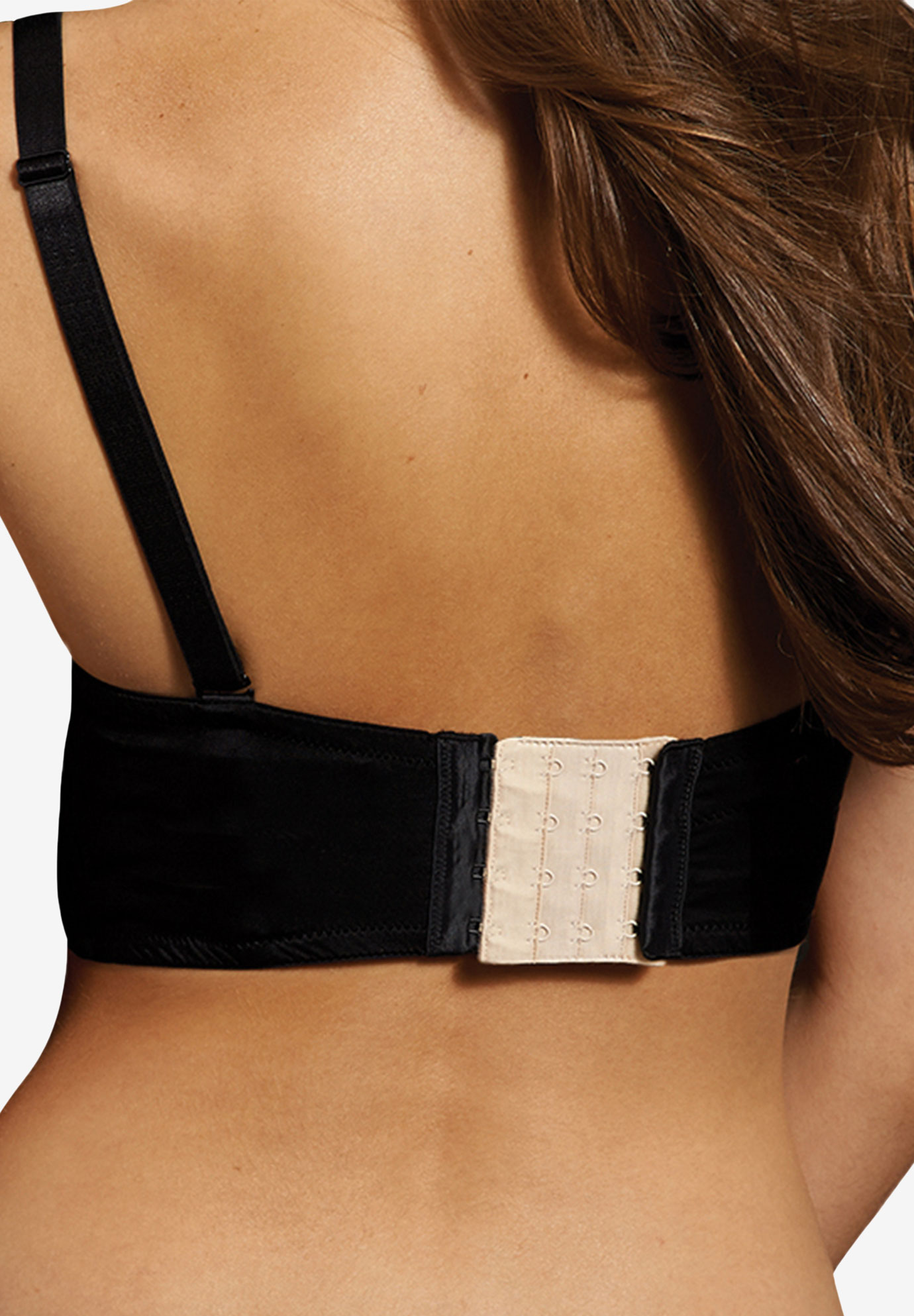 Maidenform®  4 Hook 3/4 Inch Bra Extenders, MULTI