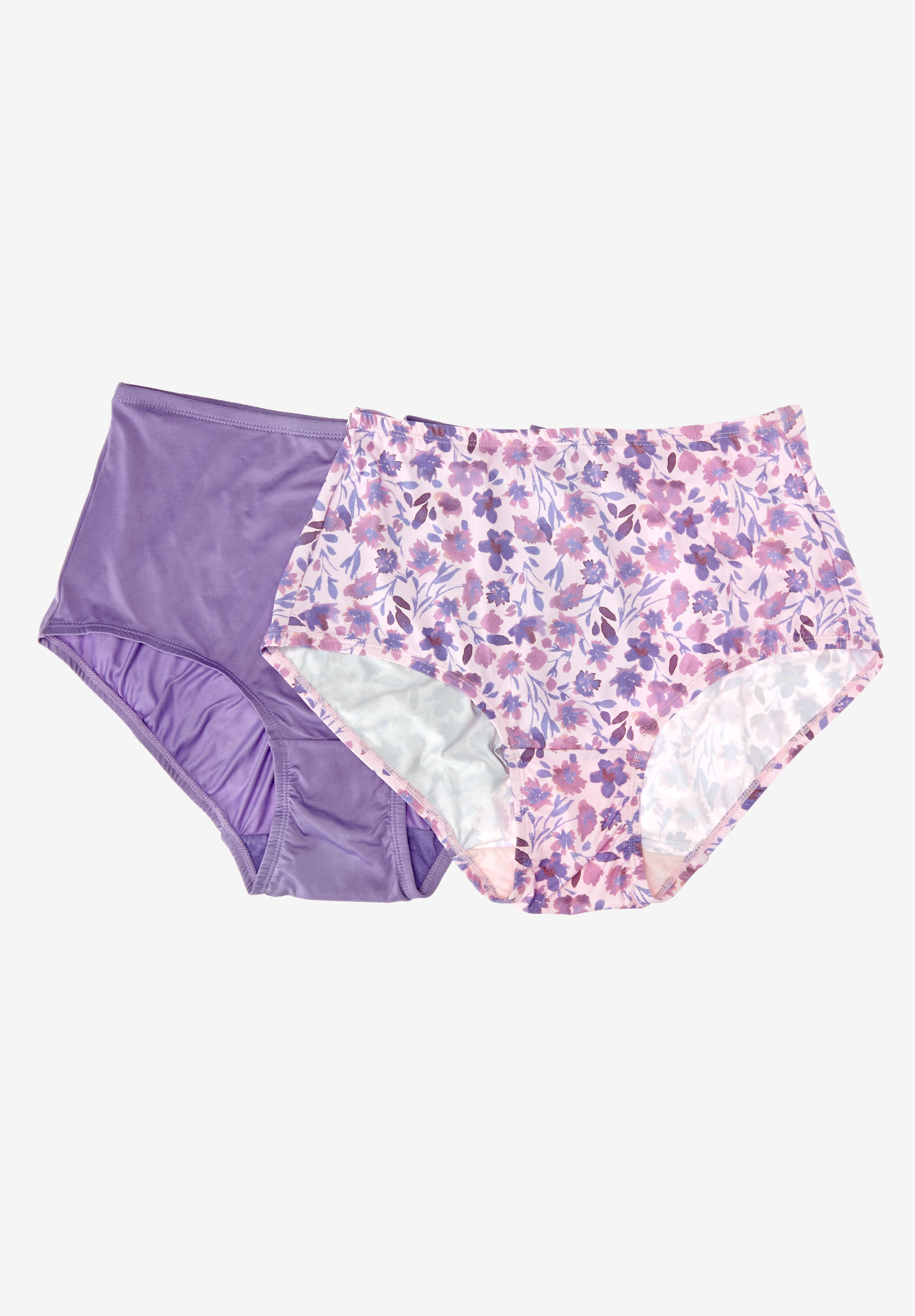 2-Pack Cooling Briefs by Comfort Choice®, PINK BLOOM PACK, hi-res