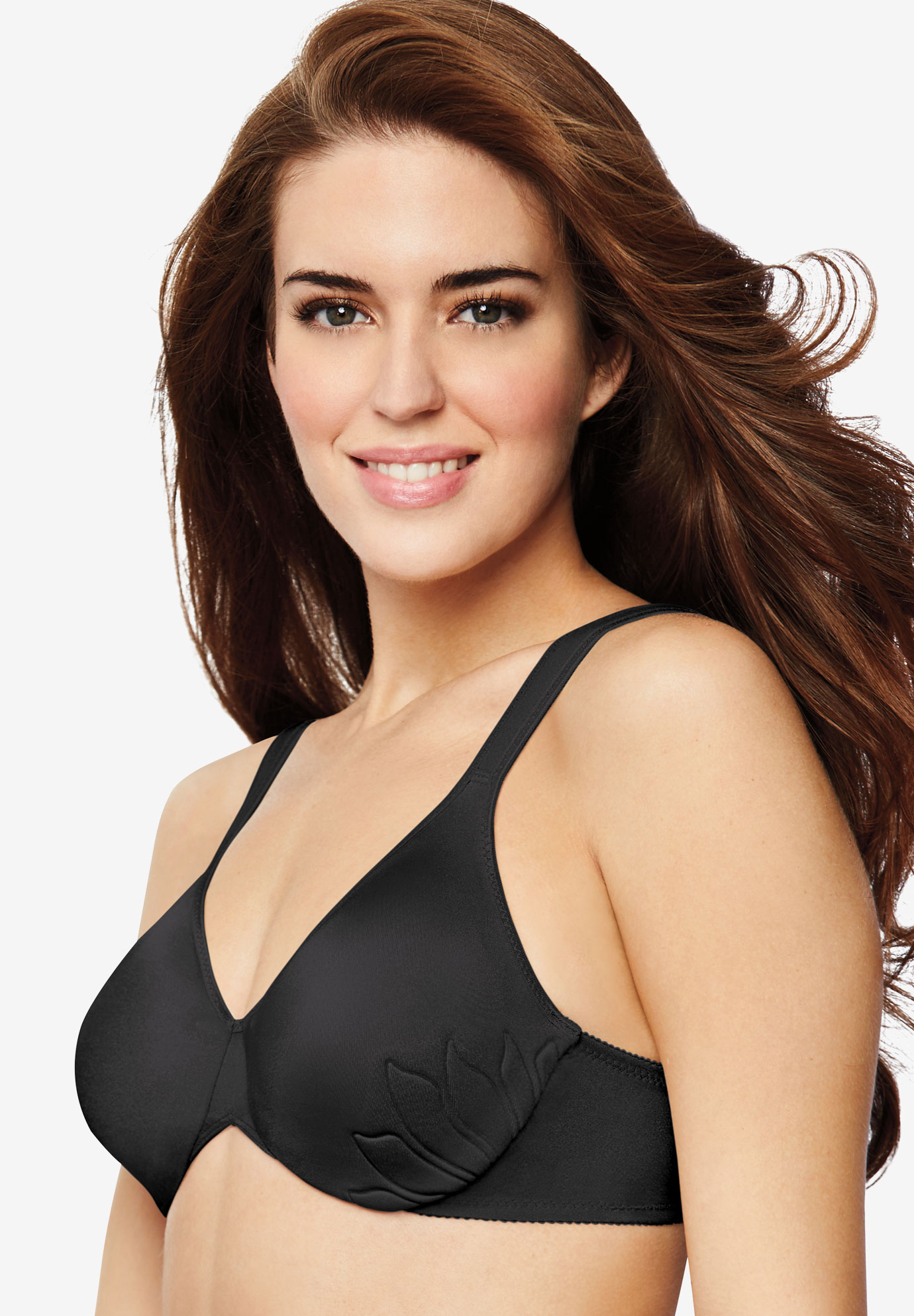 Bali® Live it Up Underwire Bra, BLACK, hi-res
