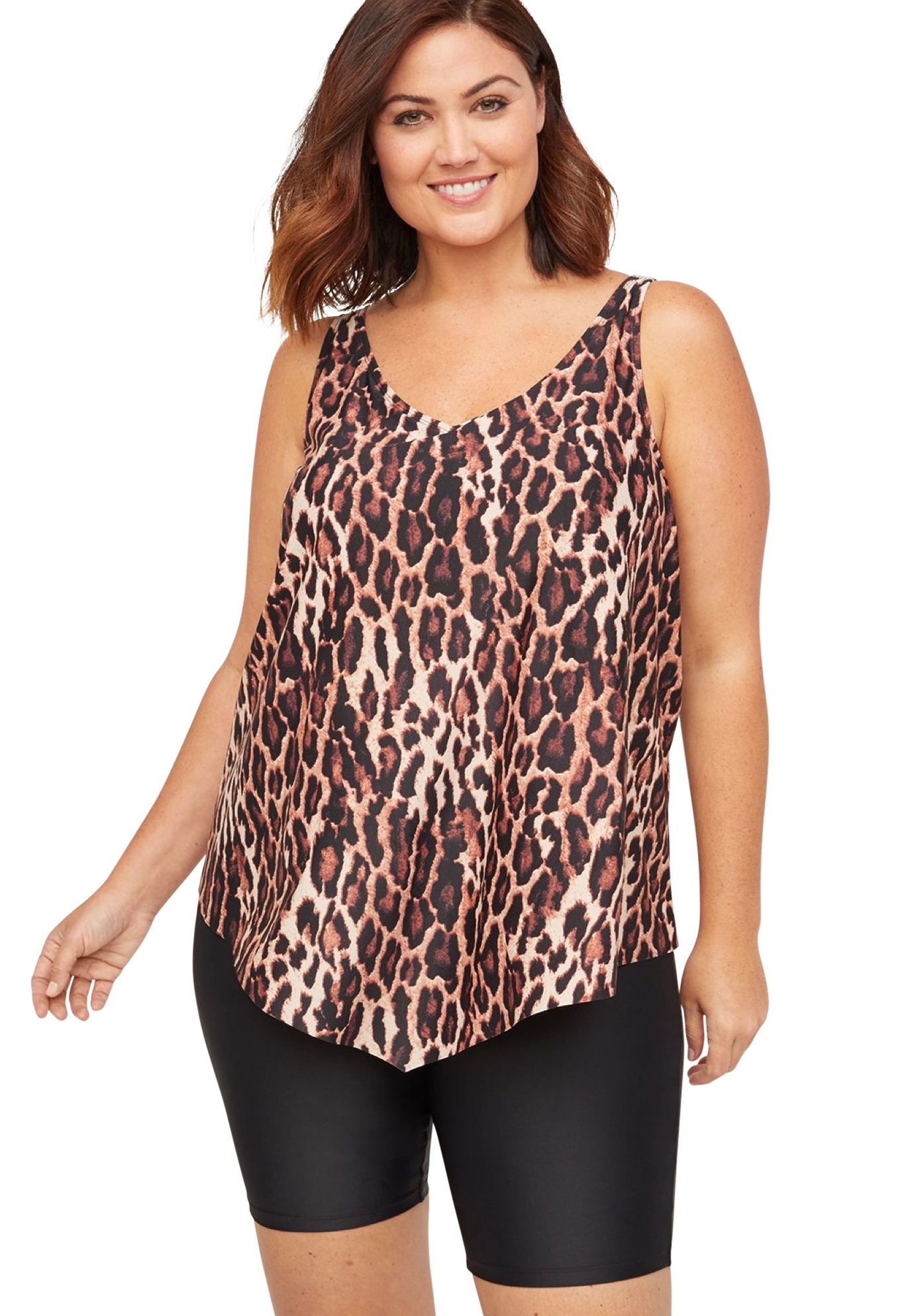 Safari View Tankini Top,