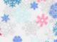 Microfleece Wrap Robe by Dreams & Co.®, MULTI SNOWFLAKES, swatch