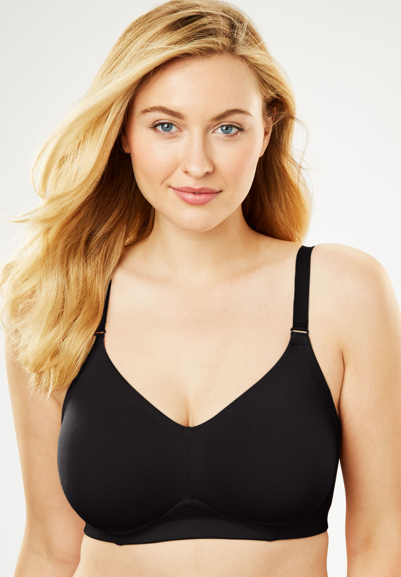 Everyday Embrace Wireless Back Smoothing Bra by Comfort Choice®,