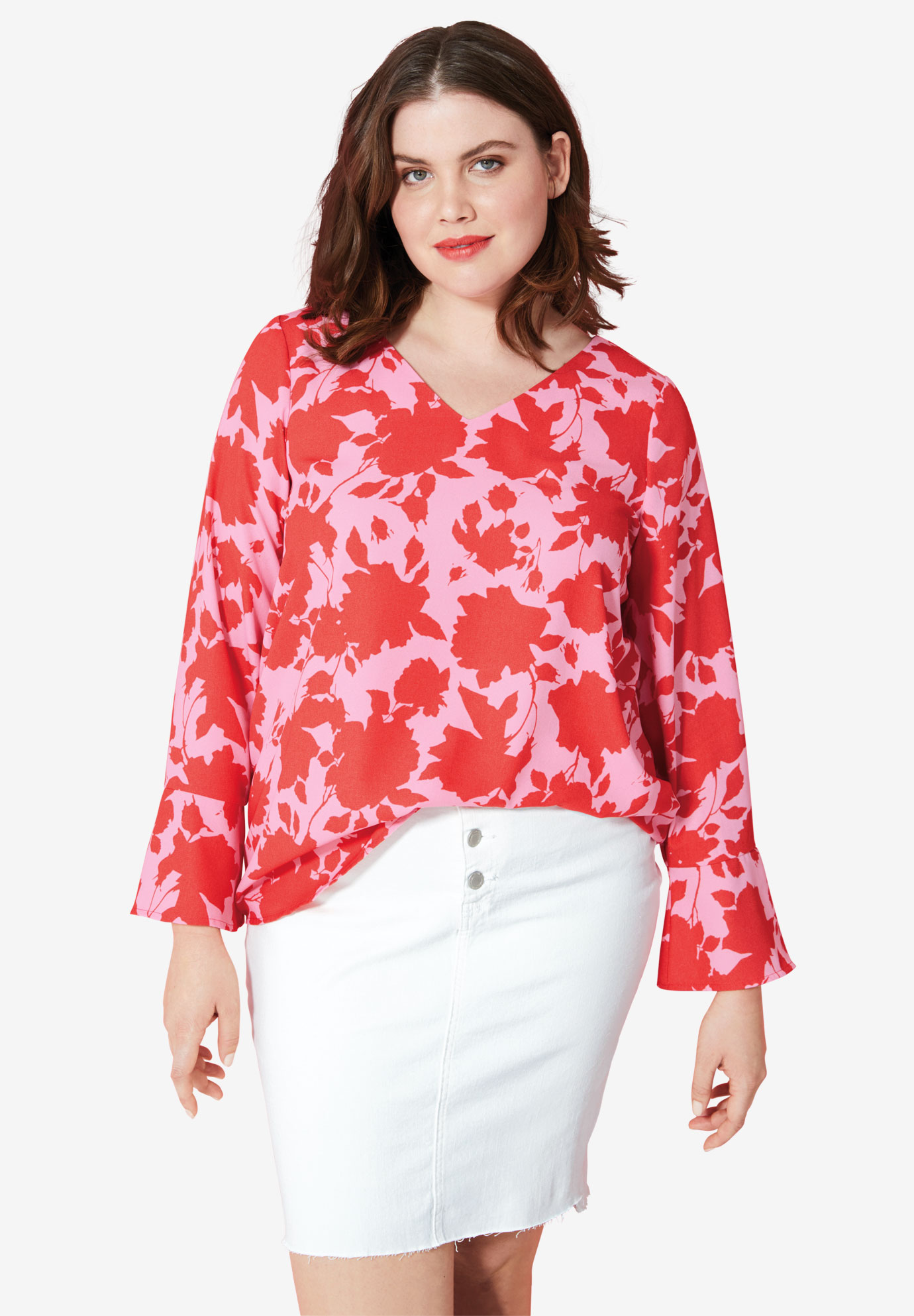 Tie Back Blouse by ellos®,