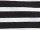 Knit Pencil Skirt, BLACK WHITE STRIPE, swatch