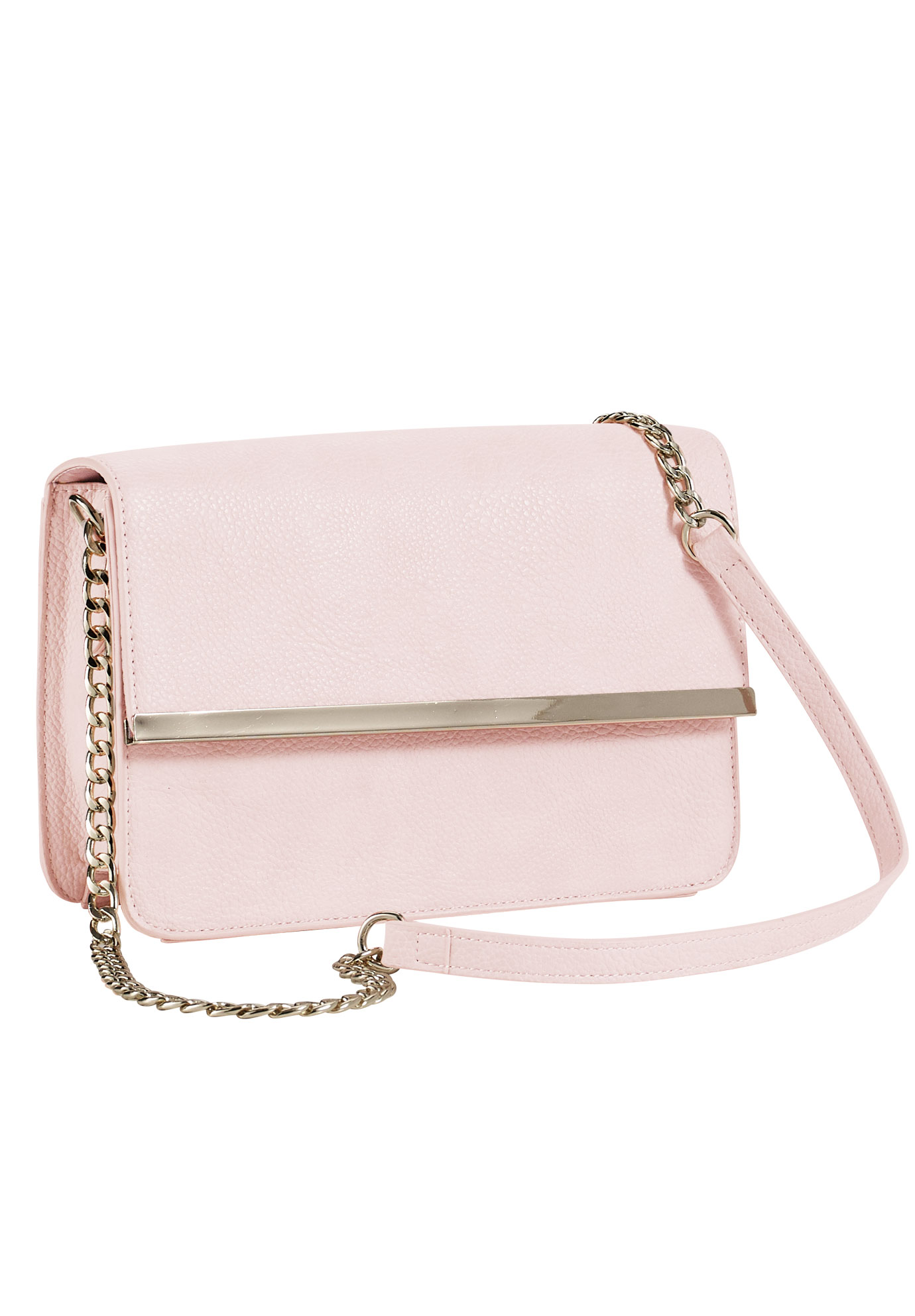 Chain Strap Bag by ellos®, PALE BLUSH