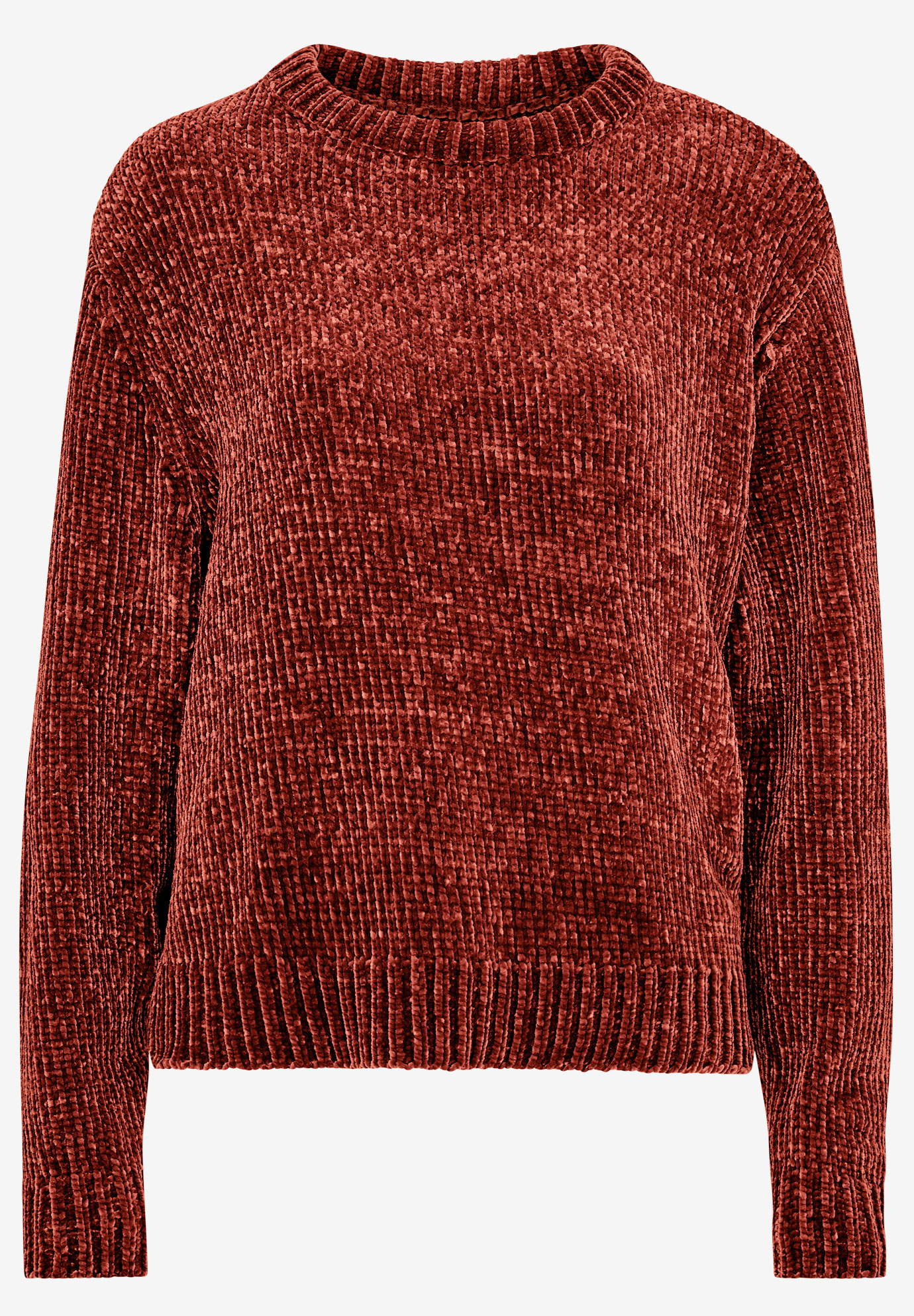 Boxy Chenille Pullover by ellos®,