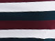 Striped Boatneck Tee by ellos®, RICH BURGUNDY NAVY STRIPE, swatch