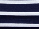 Striped Boatneck Tee by ellos®, NAVY/WHITE STRIPE, swatch